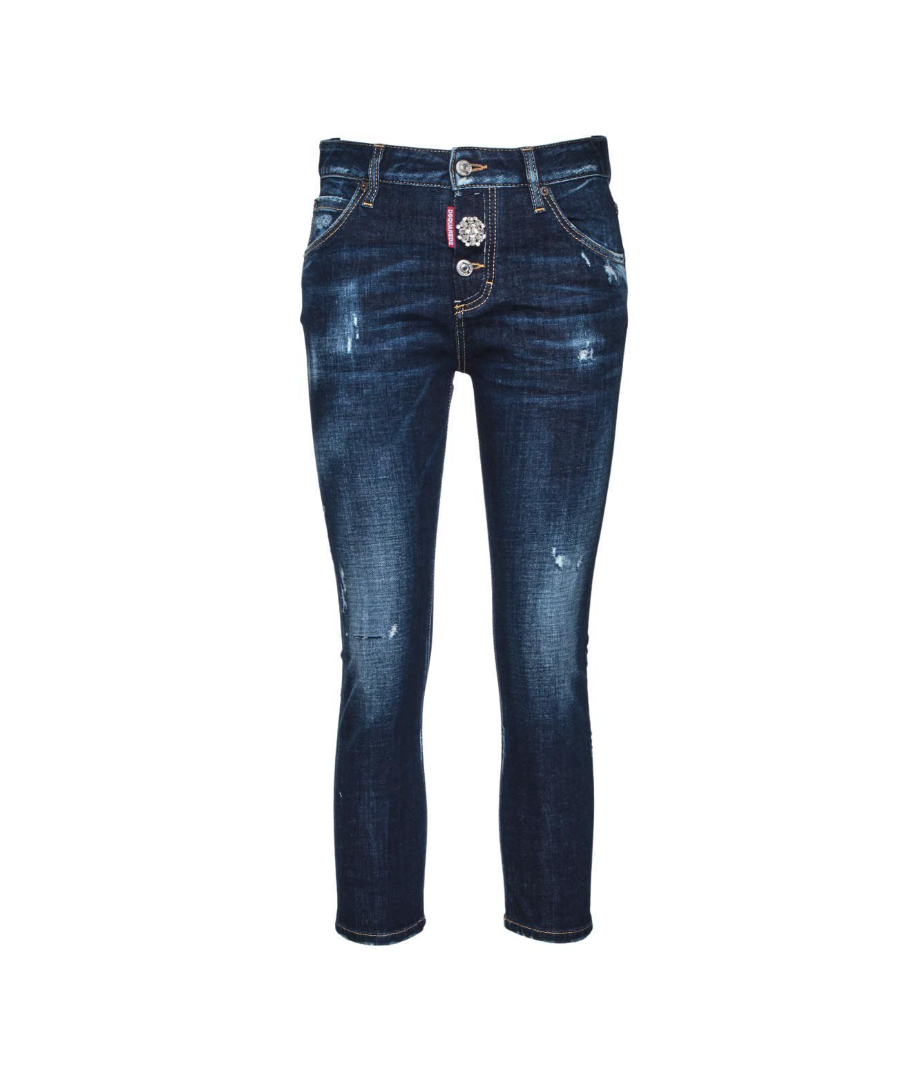 Dsquared2 Jeans DSQUARED2 WOMEN'S S75LB0443S3066411470 BLUE OTHER MATERIALS JEANS
