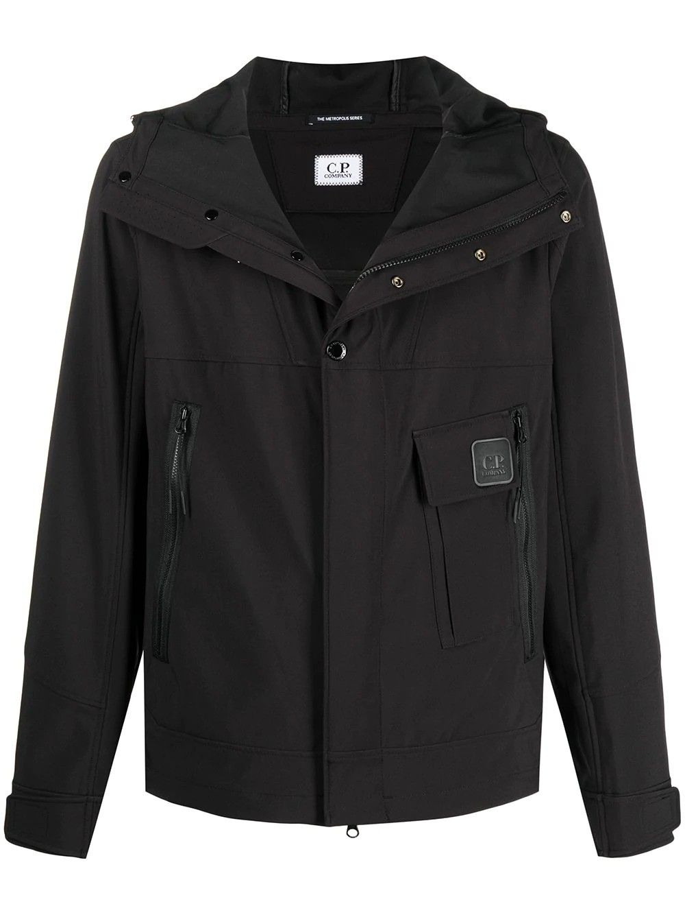 C.p. Company Jackets CP COMPANY MEN'S 10CMOW019A005968A999 BLACK POLYESTER OUTERWEAR JACKET