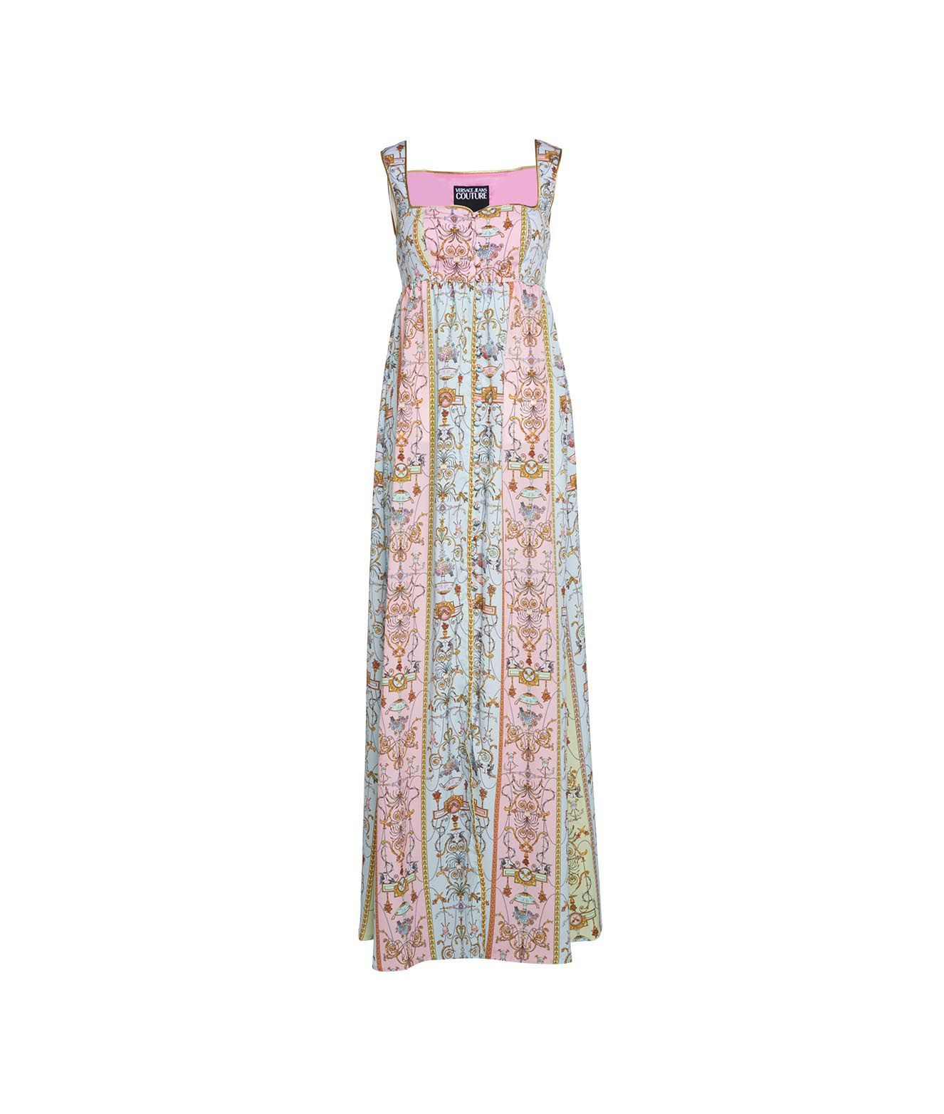 Versace Linings VERSACE WOMEN'S HWA434S099111N87 MULTICOLOR OTHER MATERIALS DRESS