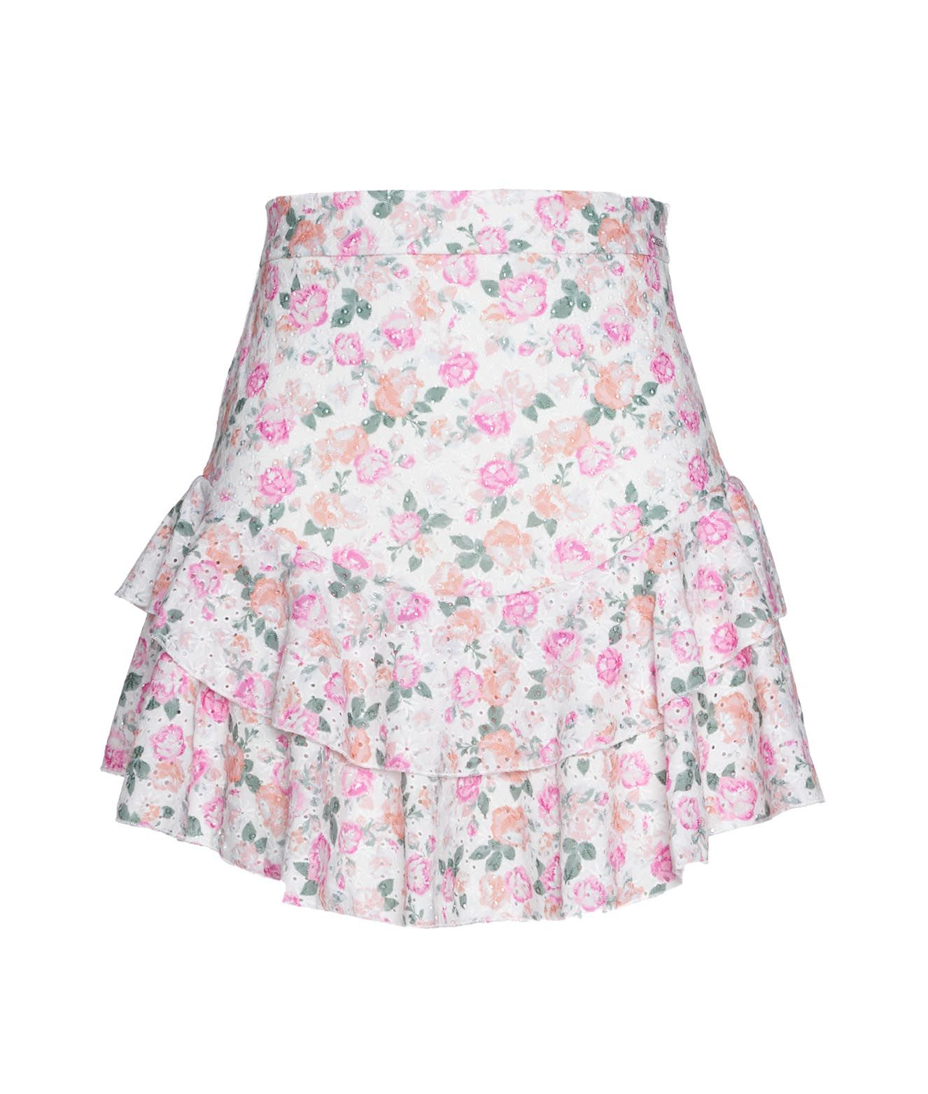 Guess Skirts GUESS WOMEN'S W1GD0FKALQ011P06X MULTICOLOR OTHER MATERIALS SKIRT