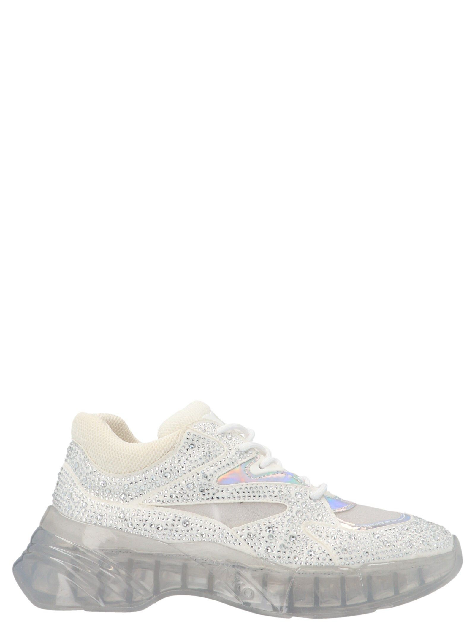 Pinko Sneakers PINKO WOMEN'S 1H20V2Y73HZ04 WHITE OTHER MATERIALS SNEAKERS