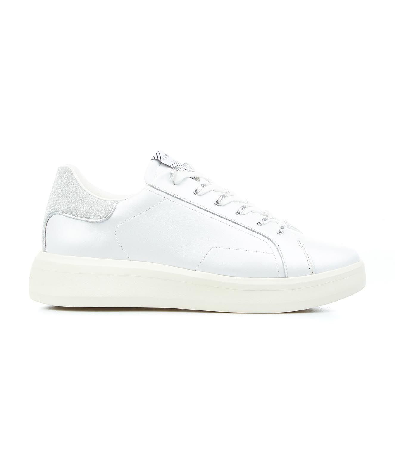 Crime London Leathers CRIME LONDON WOMEN'S 25306PP3B11WHITE WHITE OTHER MATERIALS SNEAKERS