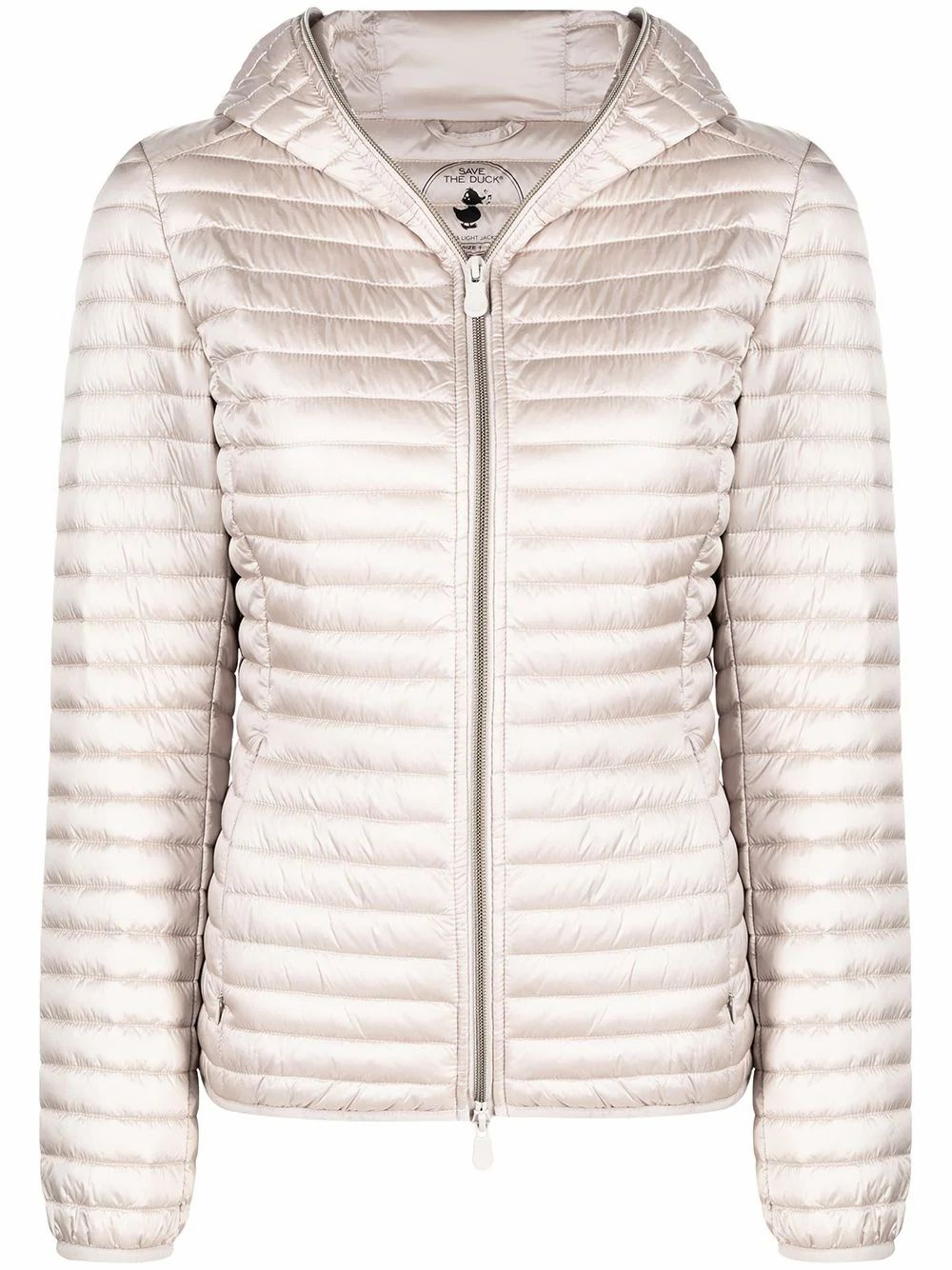 Save The Duck SAVE THE DUCK WOMEN'S D33620WIRIS12002 WHITE POLYAMIDE DOWN JACKET