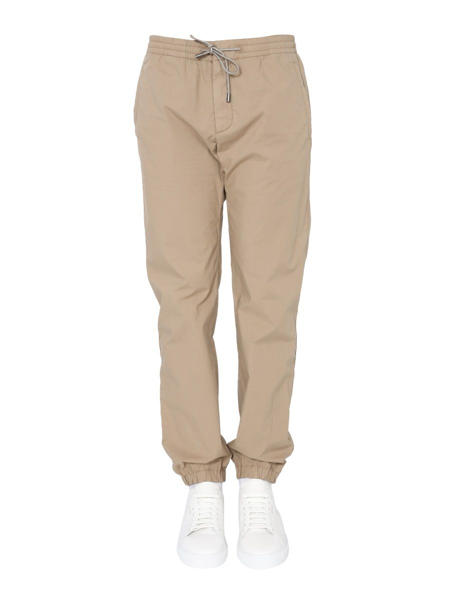 Z Zegna Cottons Z ZEGNA MEN'S VW123ZZ346N04 BROWN OTHER MATERIALS JOGGERS