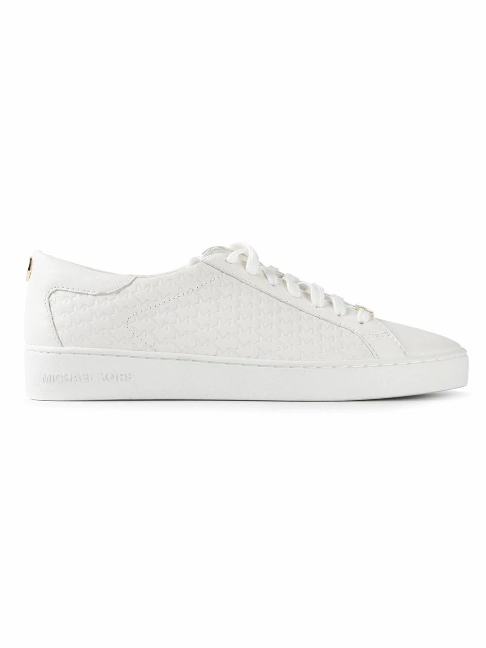 Michael Kors Leathers MICHAEL KORS WOMEN'S 43R5COFP2L085 WHITE LEATHER SNEAKERS