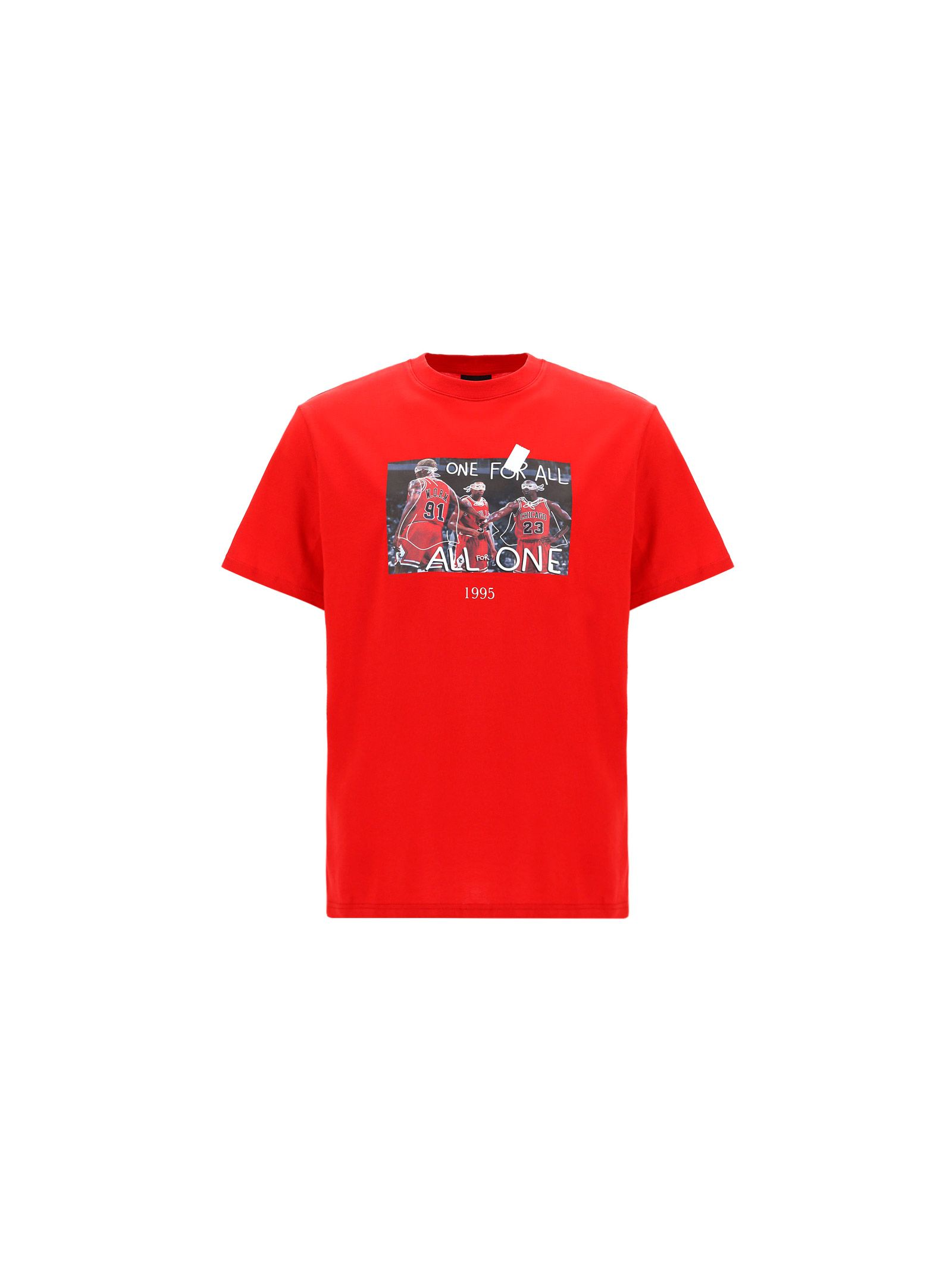 Throwback Cottons THROWBACK. MEN'S TBT45S2RED RED OTHER MATERIALS T-SHIRT