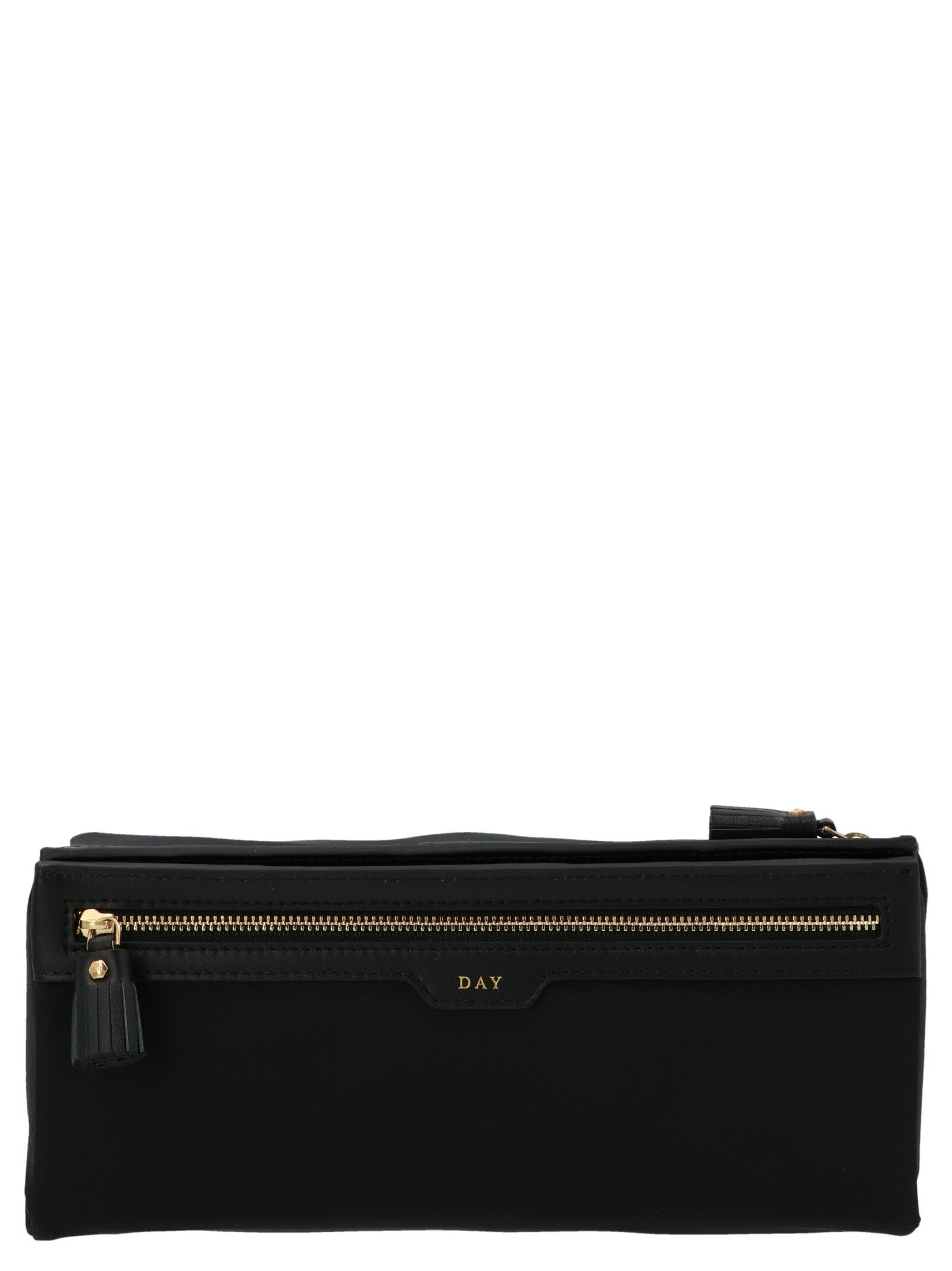 Anya Hindmarch ANYA HINDMARCH WOMEN'S 155458BLACK BLACK OTHER MATERIALS BEAUTY CASE