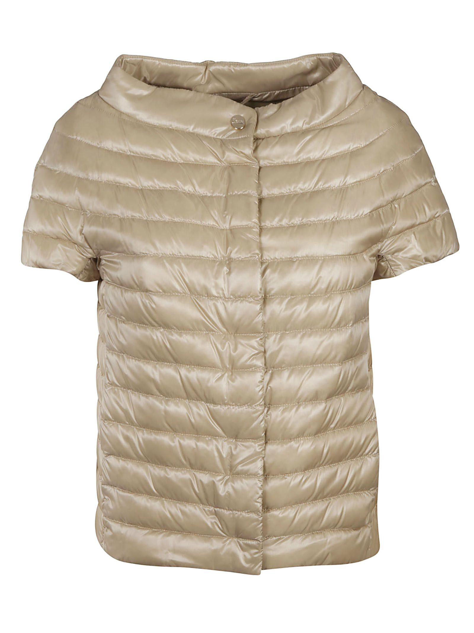 Herno HERNO WOMEN'S PI0754DIC120172100 BEIGE OTHER MATERIALS DOWN JACKET