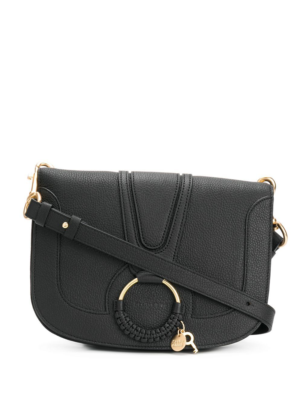 See By Chloé SEE BY CHLO WOMEN'S CHS17SS897305001 BLACK LEATHER SHOULDER BAG