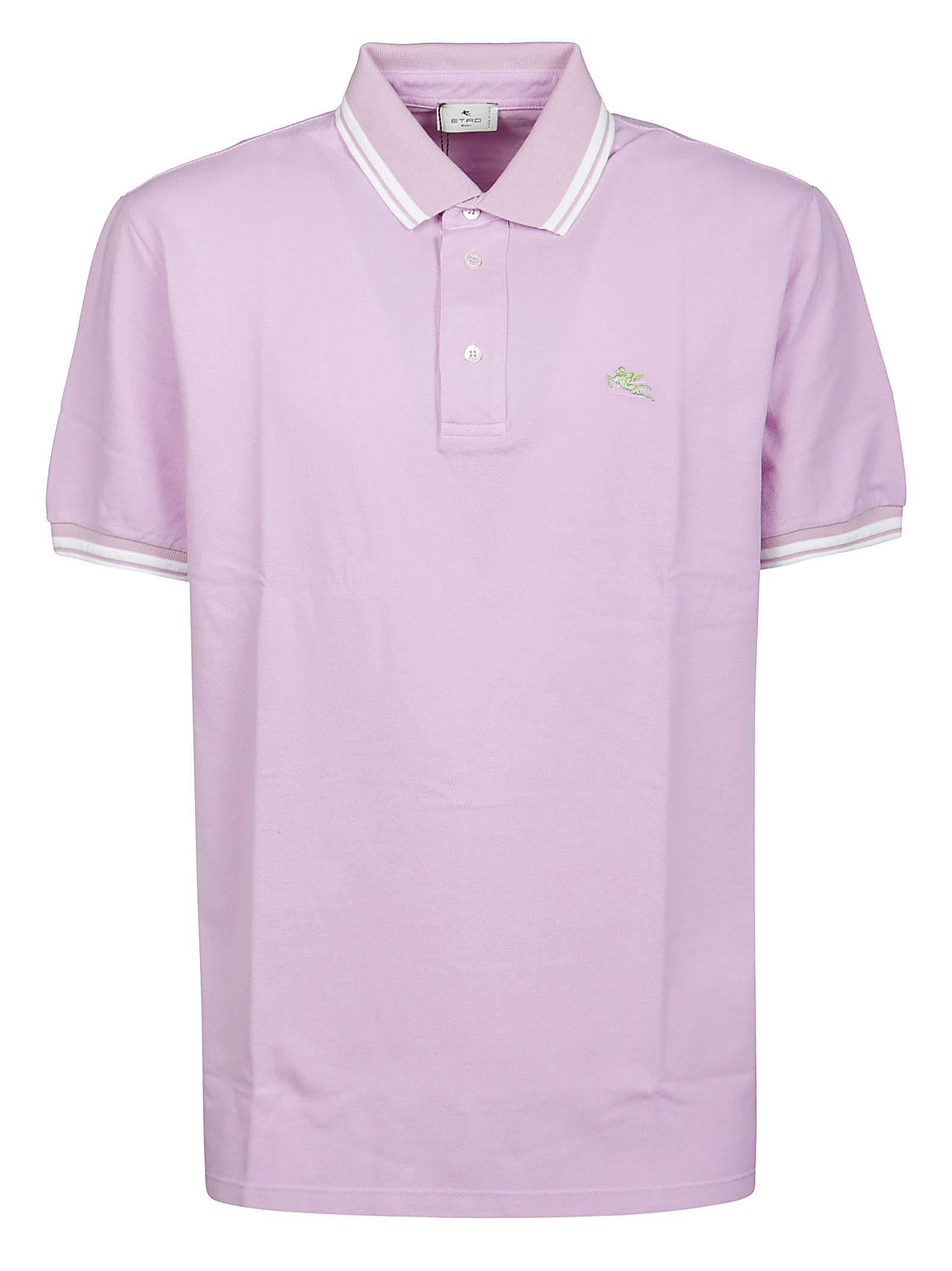 Etro Tops ETRO MEN'S 1Y80099820651 PURPLE OTHER MATERIALS POLO SHIRT