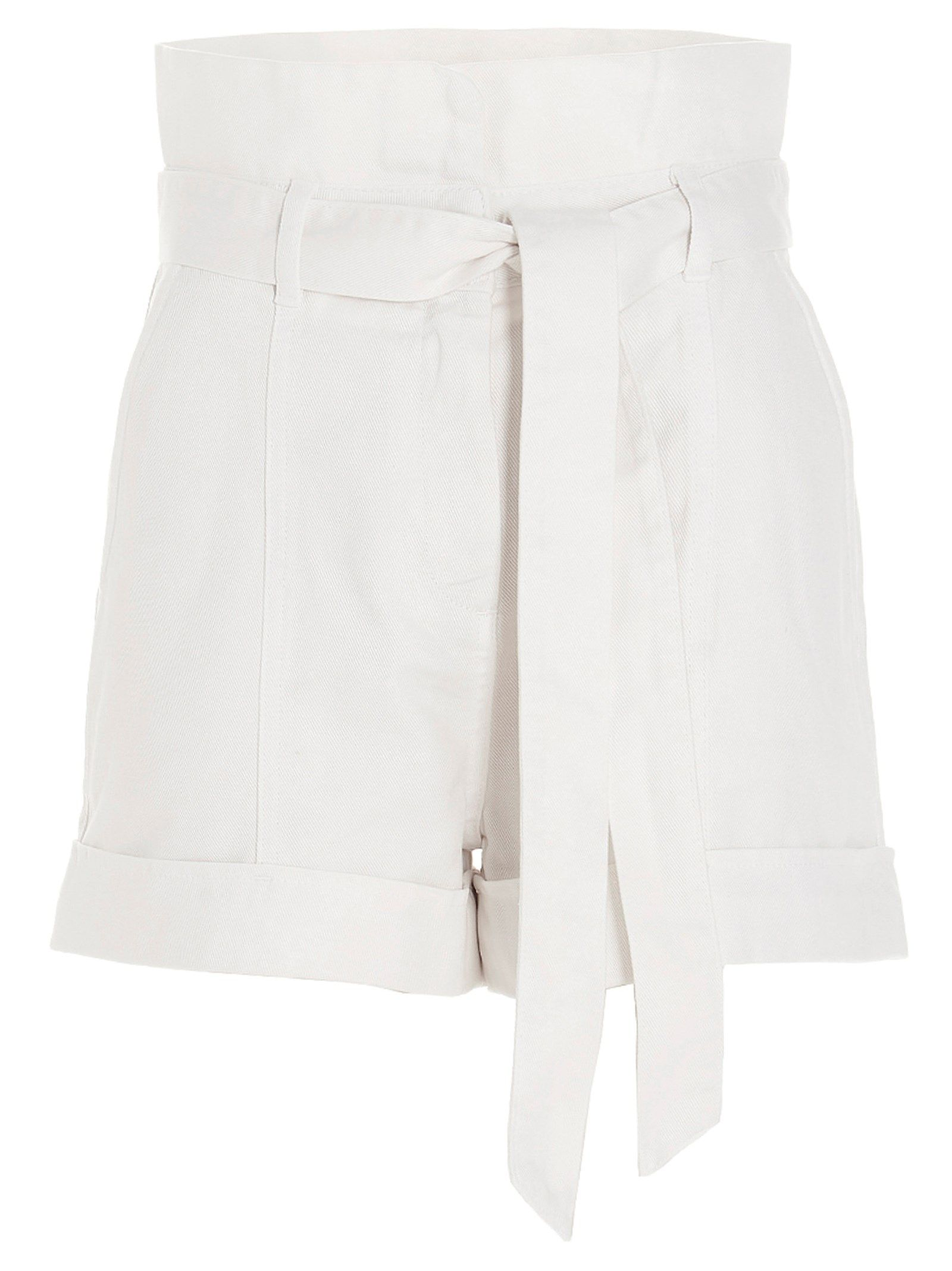 Twinset TWIN-SET WOMEN'S 211TT233000282 WHITE OTHER MATERIALS SHORTS