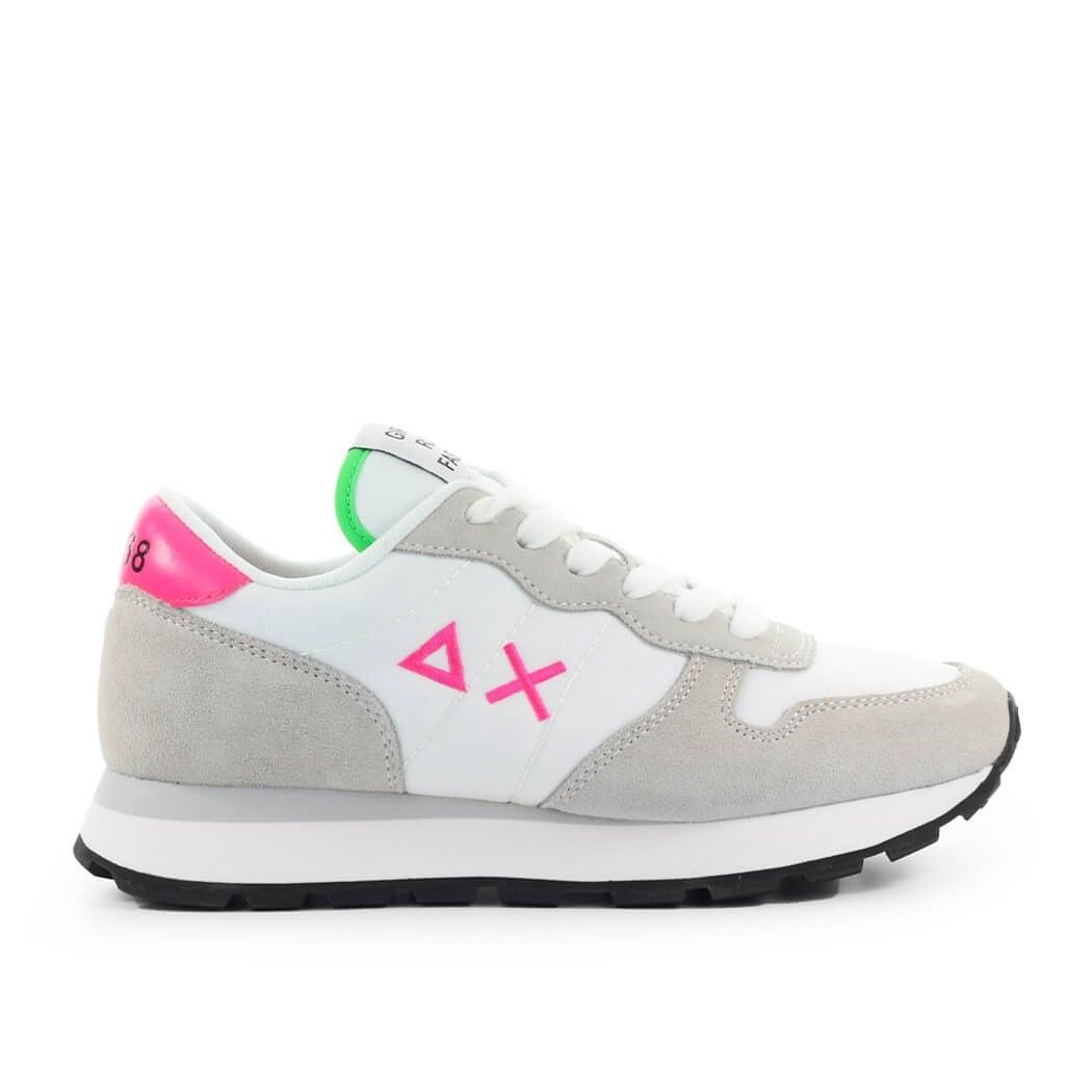 Sun68 SUN 68 WOMEN'S Z3120101 WHITE SUEDE SNEAKERS