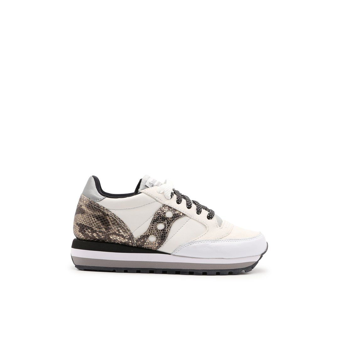 Saucony SAUCONY WOMEN'S 605501 BEIGE LEATHER SNEAKERS
