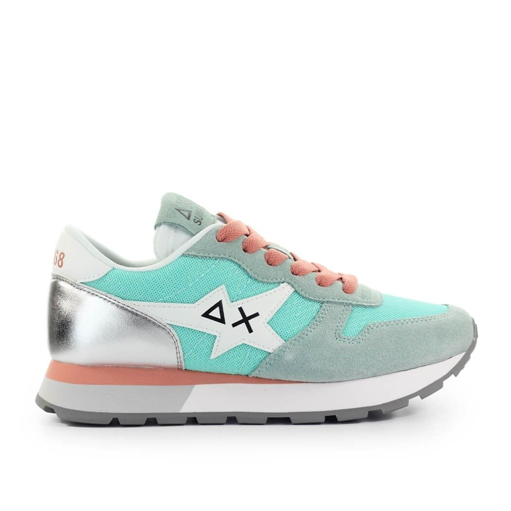 Sun68 SUN 68 WOMEN'S Z3120894 LIGHT BLUE POLYAMIDE SNEAKERS