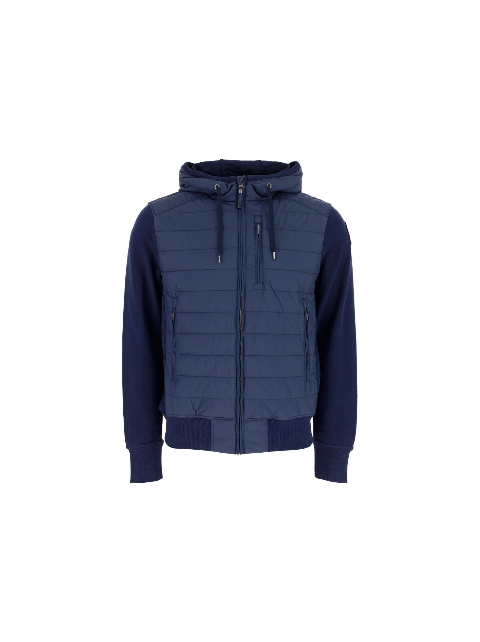 Parajumpers Jackets PARAJUMPERS MEN'S PMFLEFP01562 BLUE OTHER MATERIALS SWEATSHIRT