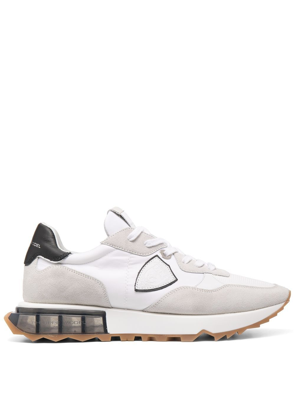Philippe Model Sneakers PHILIPPE MODEL MEN'S LRLUW001 WHITE LEATHER SNEAKERS