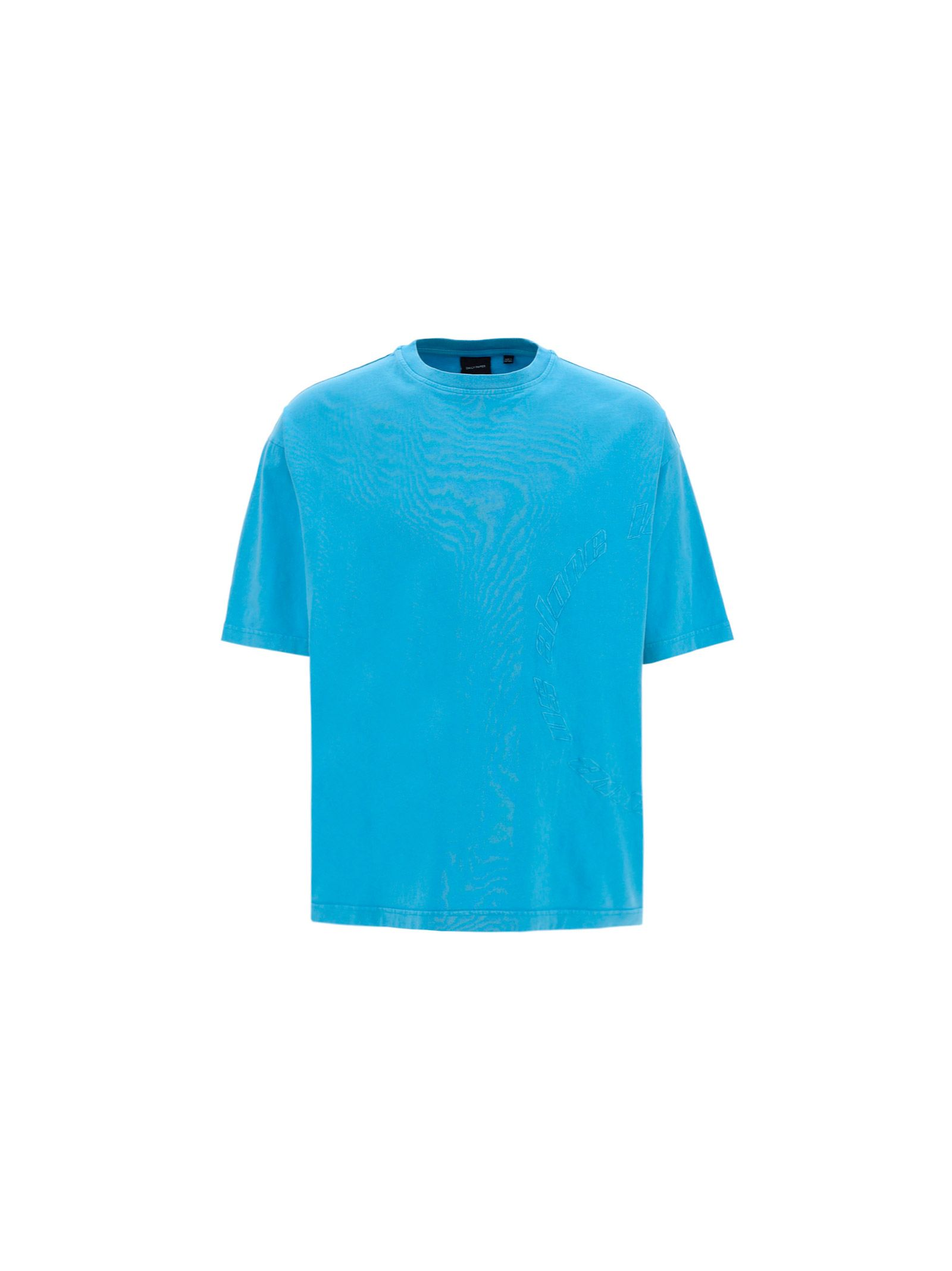 Daily Paper Cottons DAILY PAPER MEN'S 2111103BLUE LIGHT BLUE OTHER MATERIALS T-SHIRT