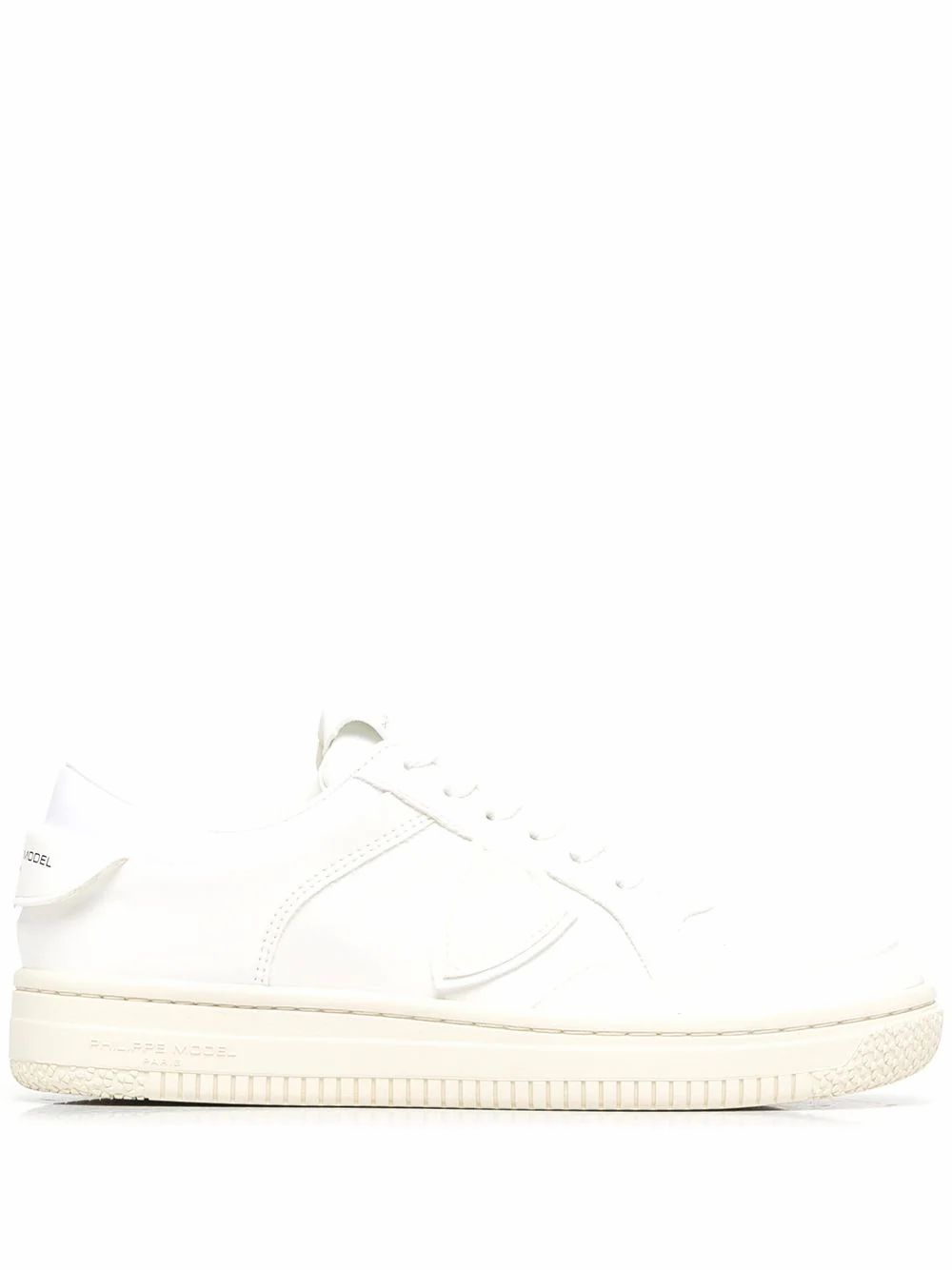 Philippe Model Sneakers PHILIPPE MODEL MEN'S LYLUBL01 WHITE LEATHER SNEAKERS