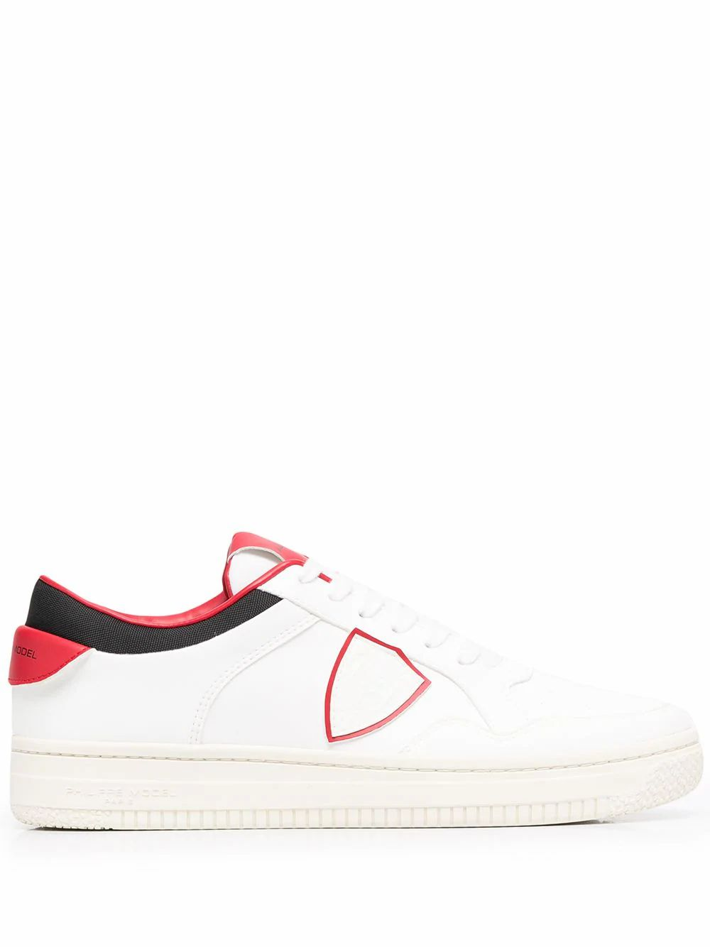 Philippe Model Sneakers PHILIPPE MODEL MEN'S LYLUBL03 WHITE LEATHER SNEAKERS