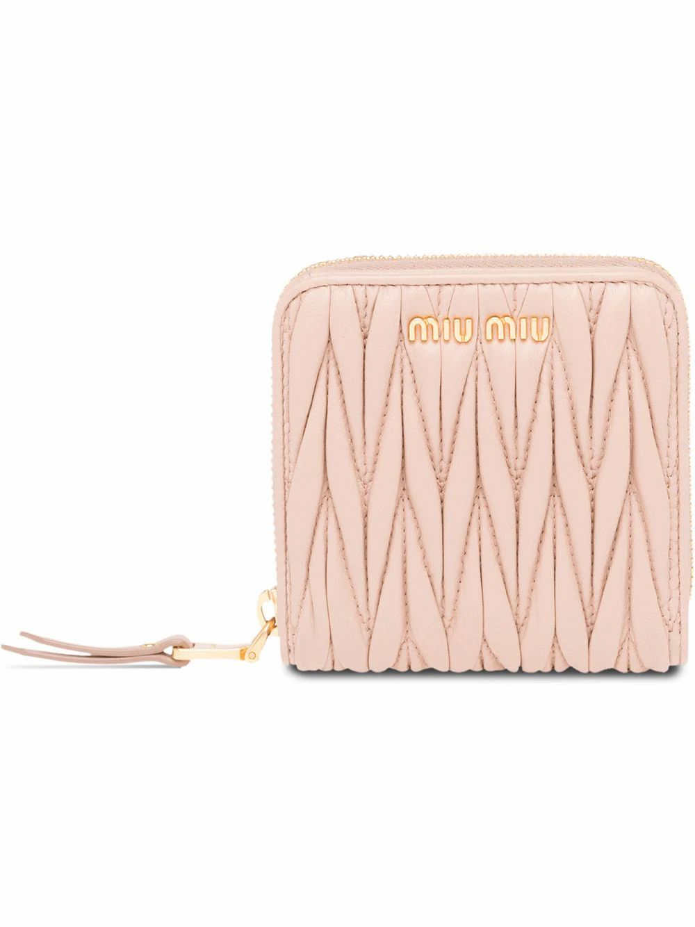 Miu Miu Bag accessorys MIU MIU WOMEN'S 5ML522N88F0770 BEIGE LEATHER WALLET