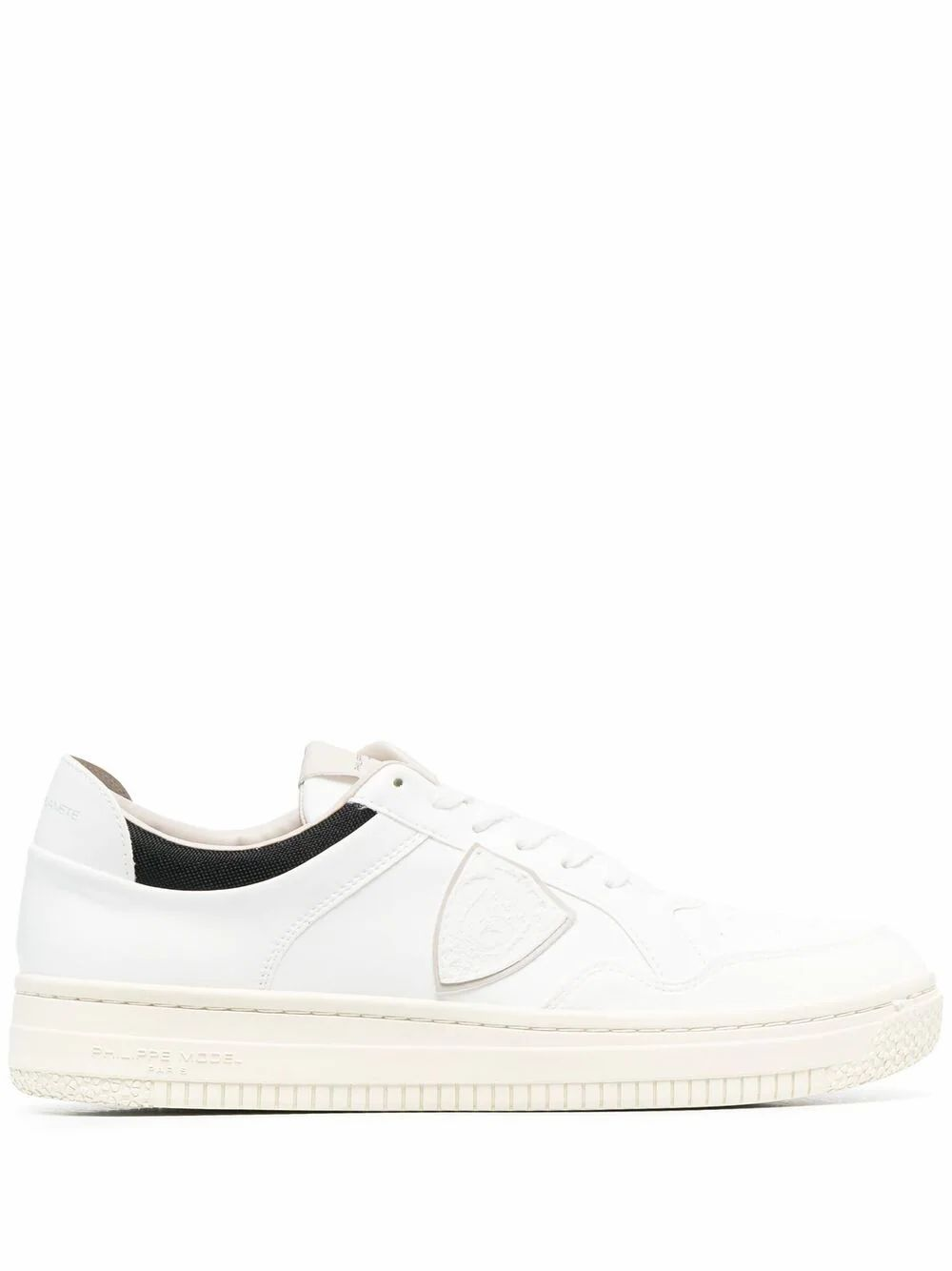 Philippe Model Low tops PHILIPPE MODEL MEN'S LYLUBL04 WHITE LEATHER SNEAKERS