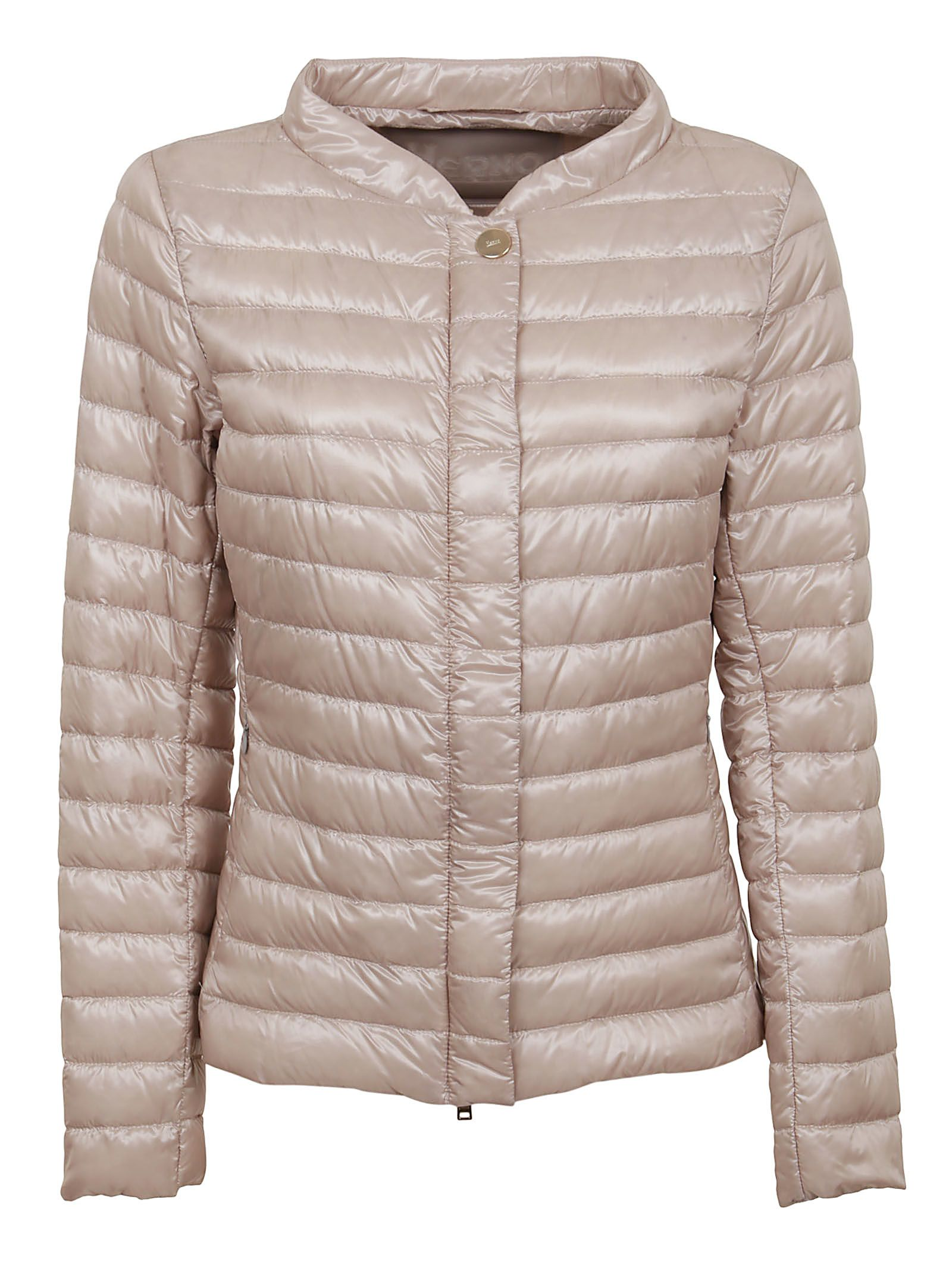 Herno HERNO WOMEN'S PI0608D120174030 PINK POLYESTER DOWN JACKET