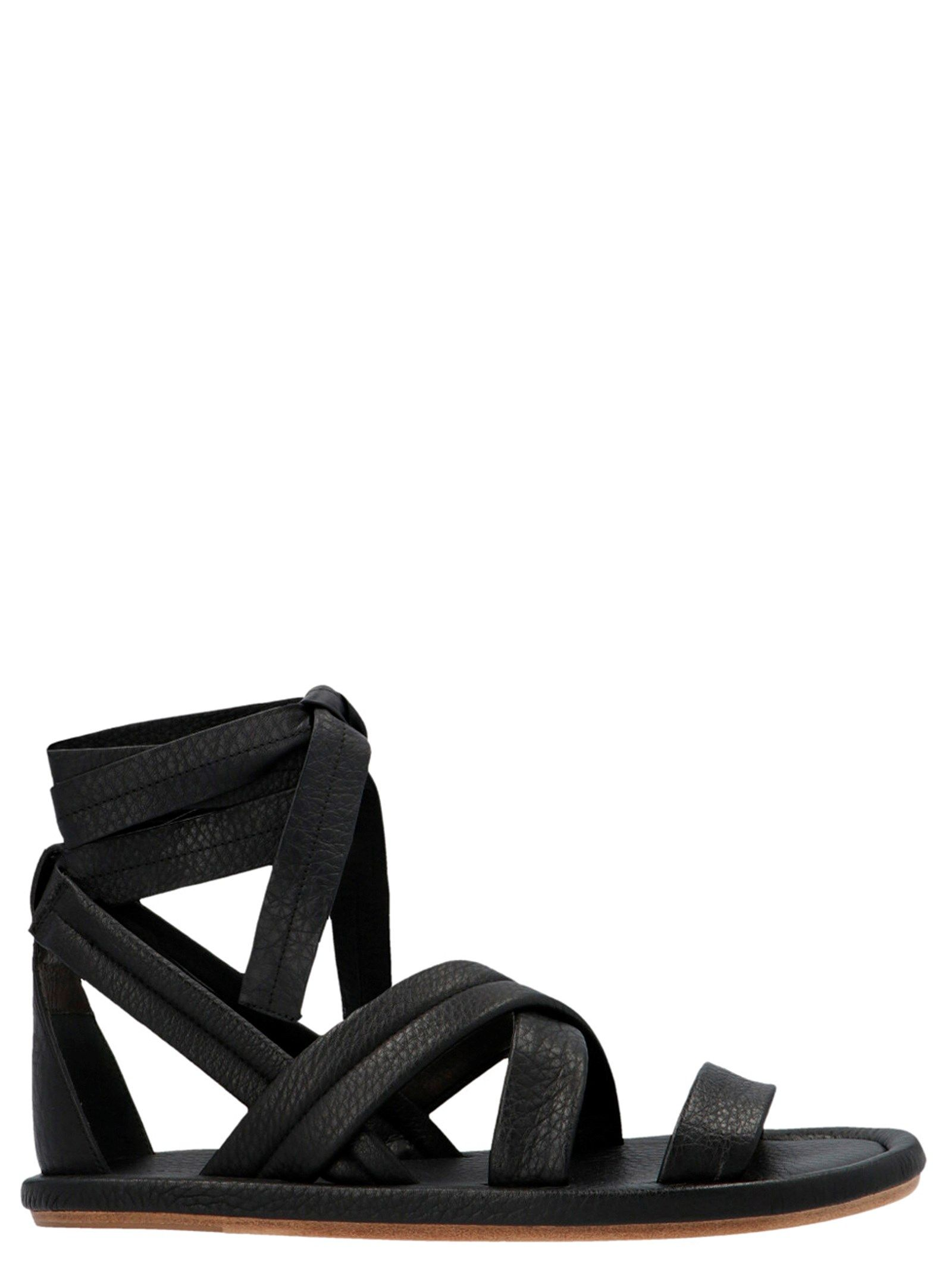 Marsèll MARSELL WOMEN'S MW6263188S330 BLACK OTHER MATERIALS SANDALS