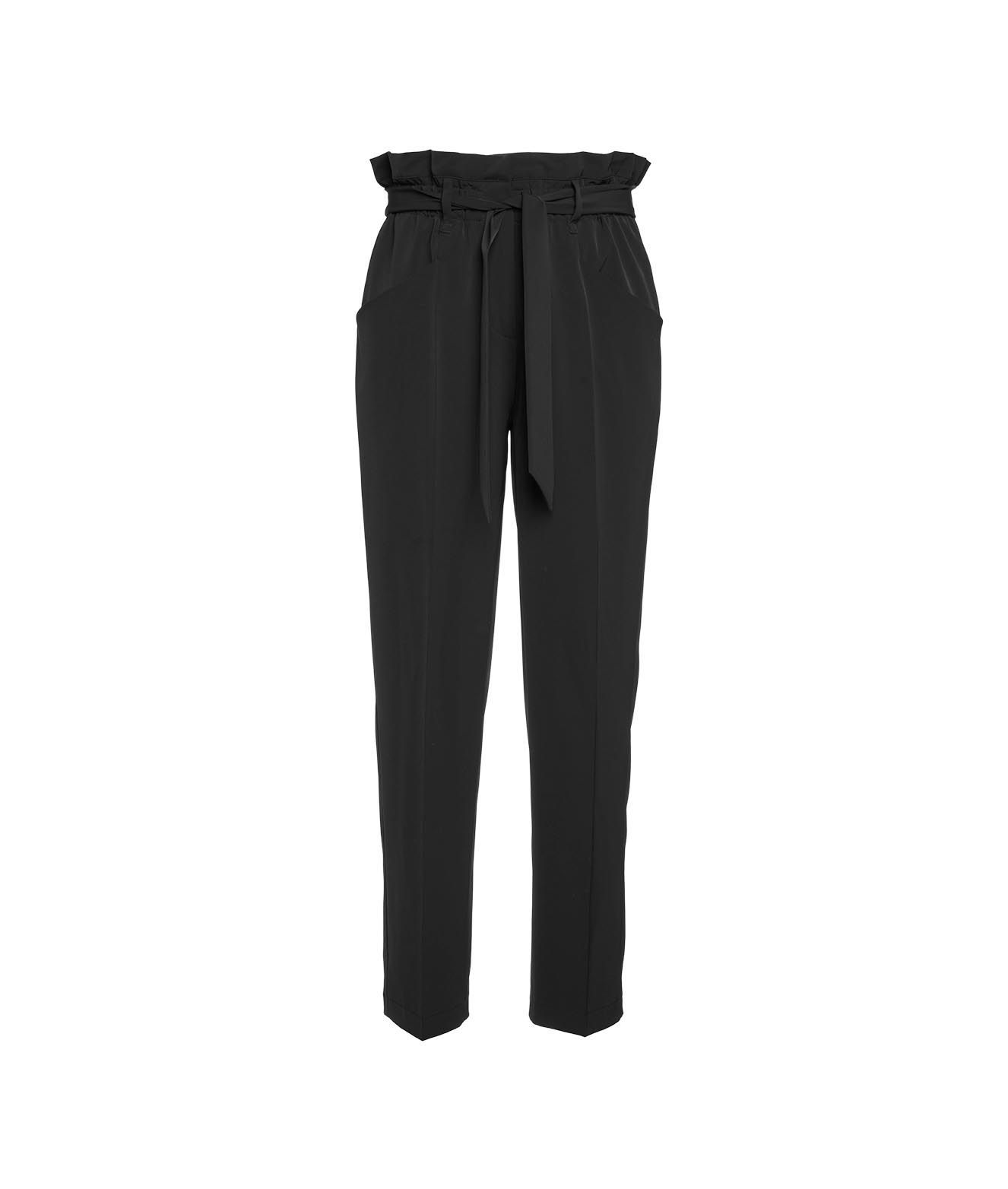 Cambio CAMBIO CLOTHING WOMEN'S 604502570011099 BLACK OTHER MATERIALS PANTS