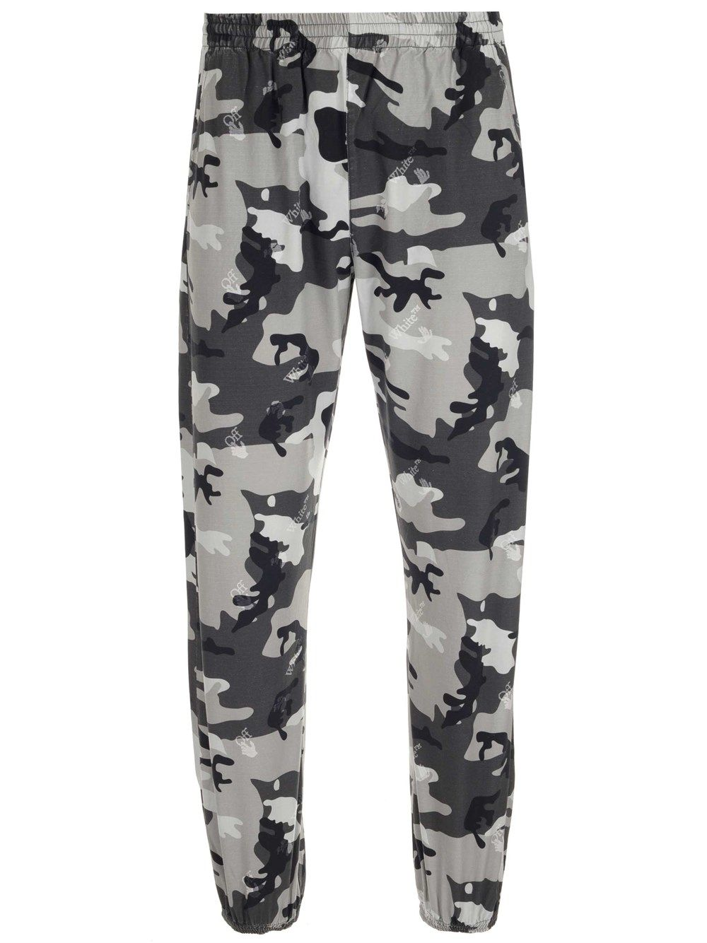 Off-White OFF-WHITE MEN'S OMCA164S21FAB0020900 GREEN OTHER MATERIALS PANTS