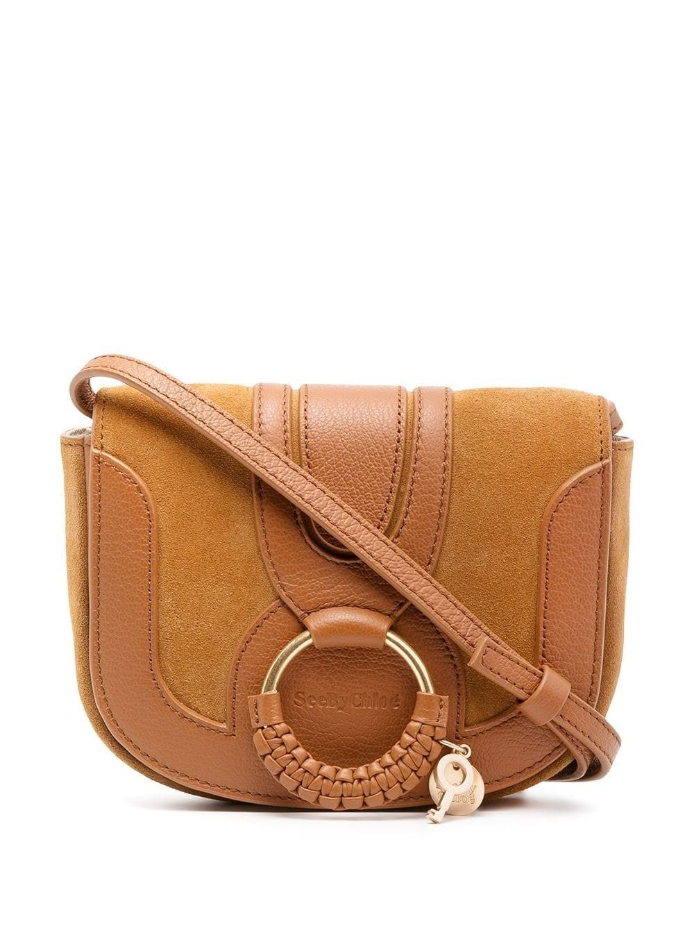 See By Chloé SEE BY CHLO WOMEN'S CHS18AS901417242 BROWN LEATHER SHOULDER BAG