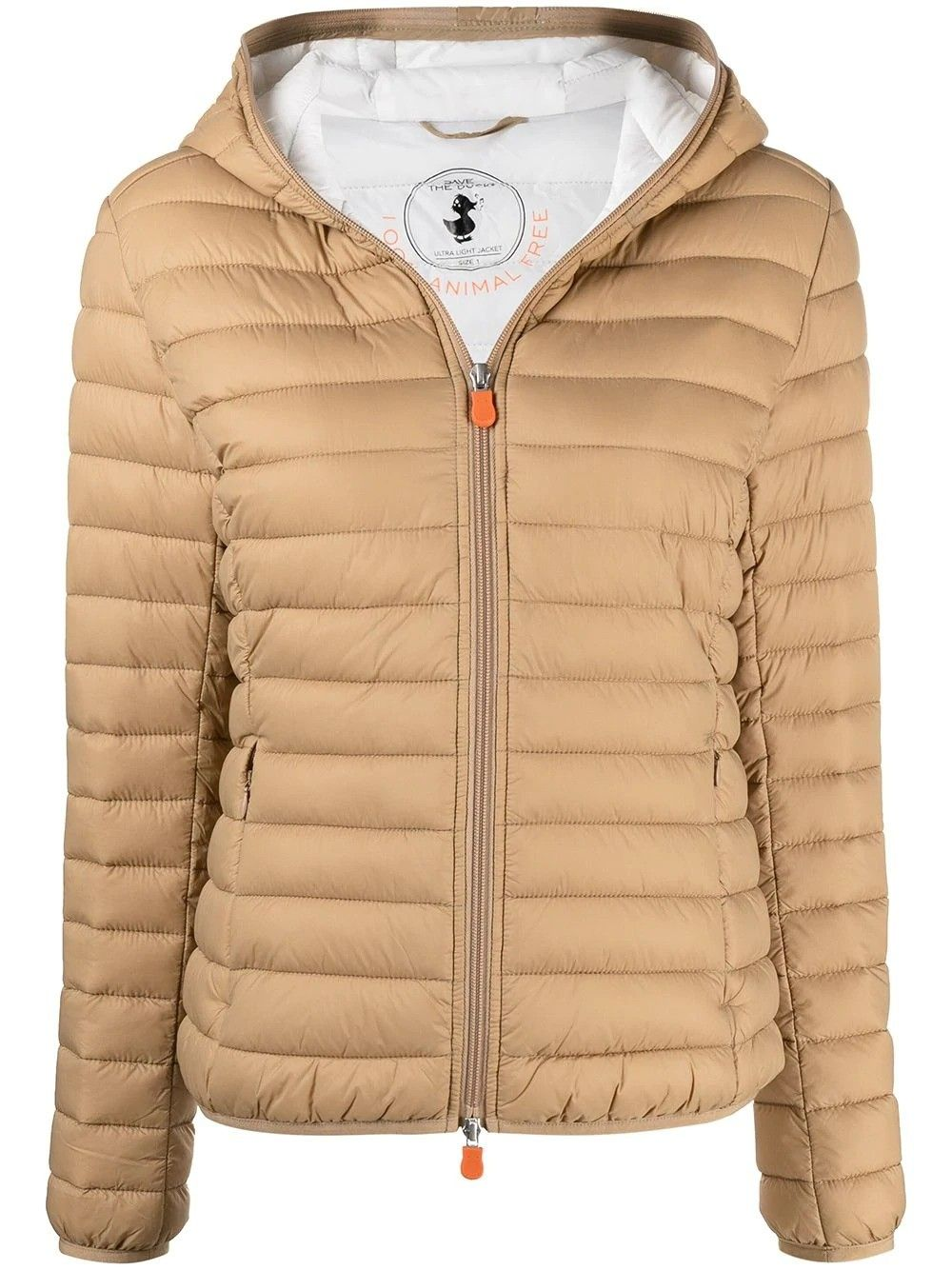 Save The Duck SAVE THE DUCK WOMEN'S D33620WGIGA1240001 BEIGE POLYAMIDE DOWN JACKET