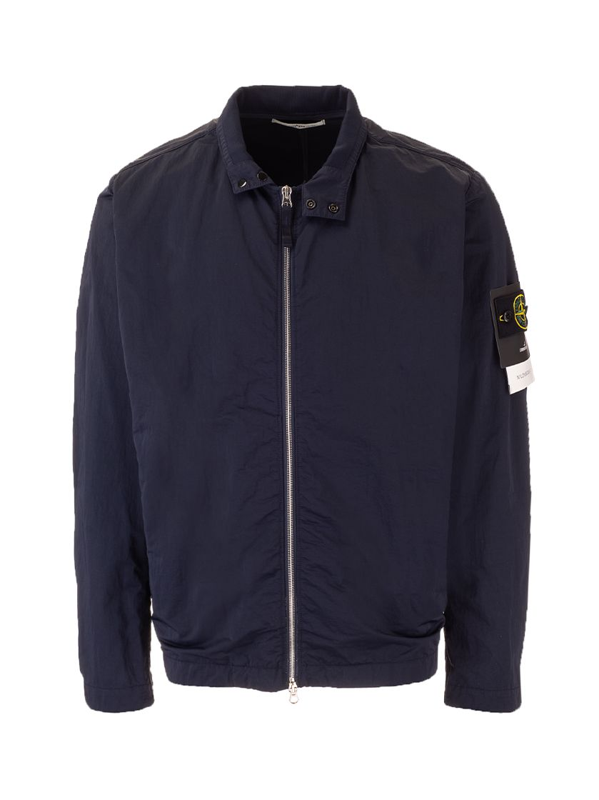 Stone Island Jackets STONE ISLAND MEN'S 741543833V0020 BLUE OTHER MATERIALS OUTERWEAR JACKET