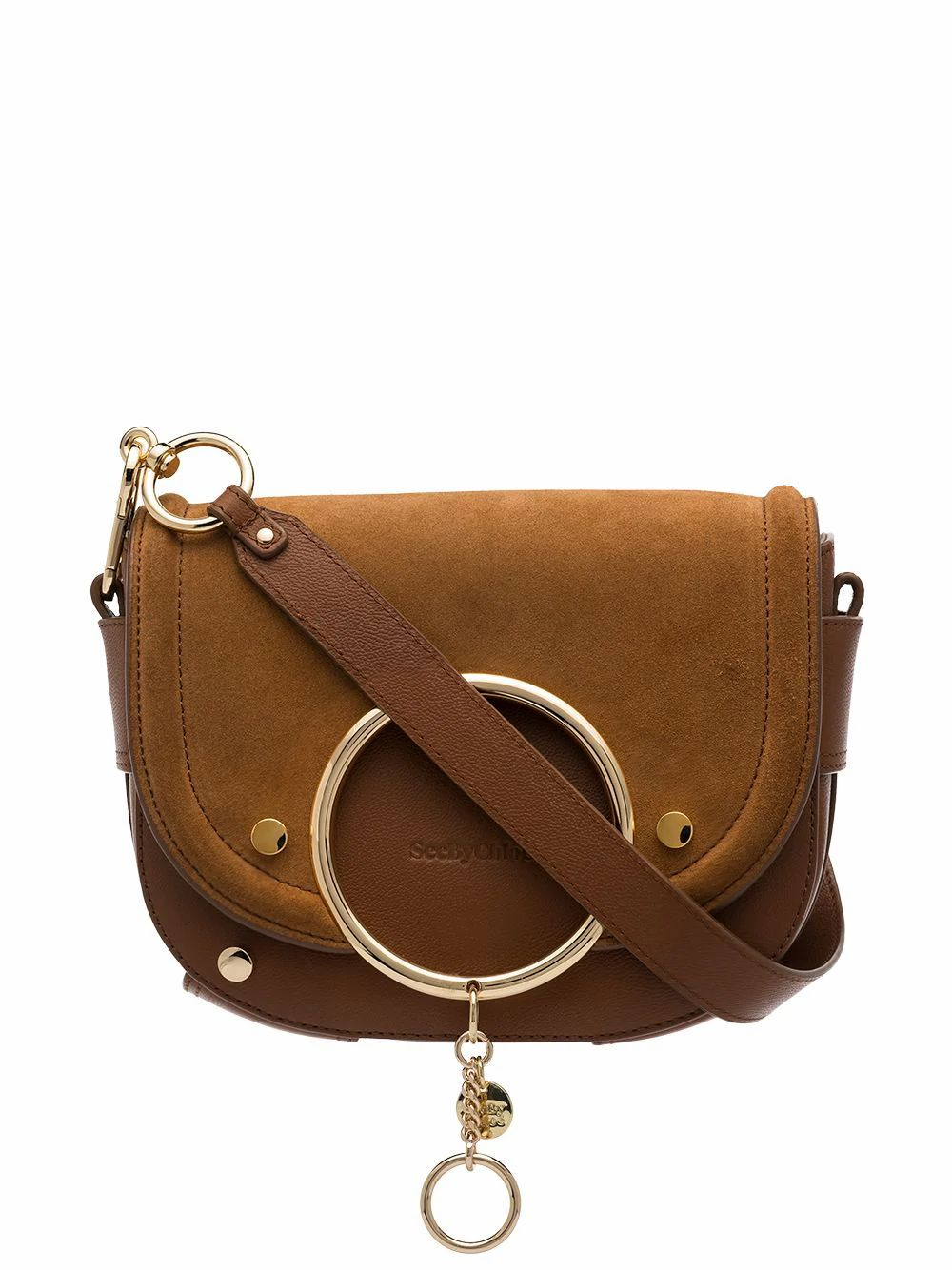 See By Chloé SEE BY CHLO WOMEN'S CHS20ASA29820242 BROWN LEATHER SHOULDER BAG