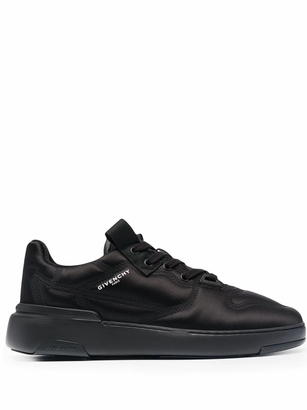 Givenchy GIVENCHY MEN'S BH004CH0SY001 BLACK VISCOSE SNEAKERS