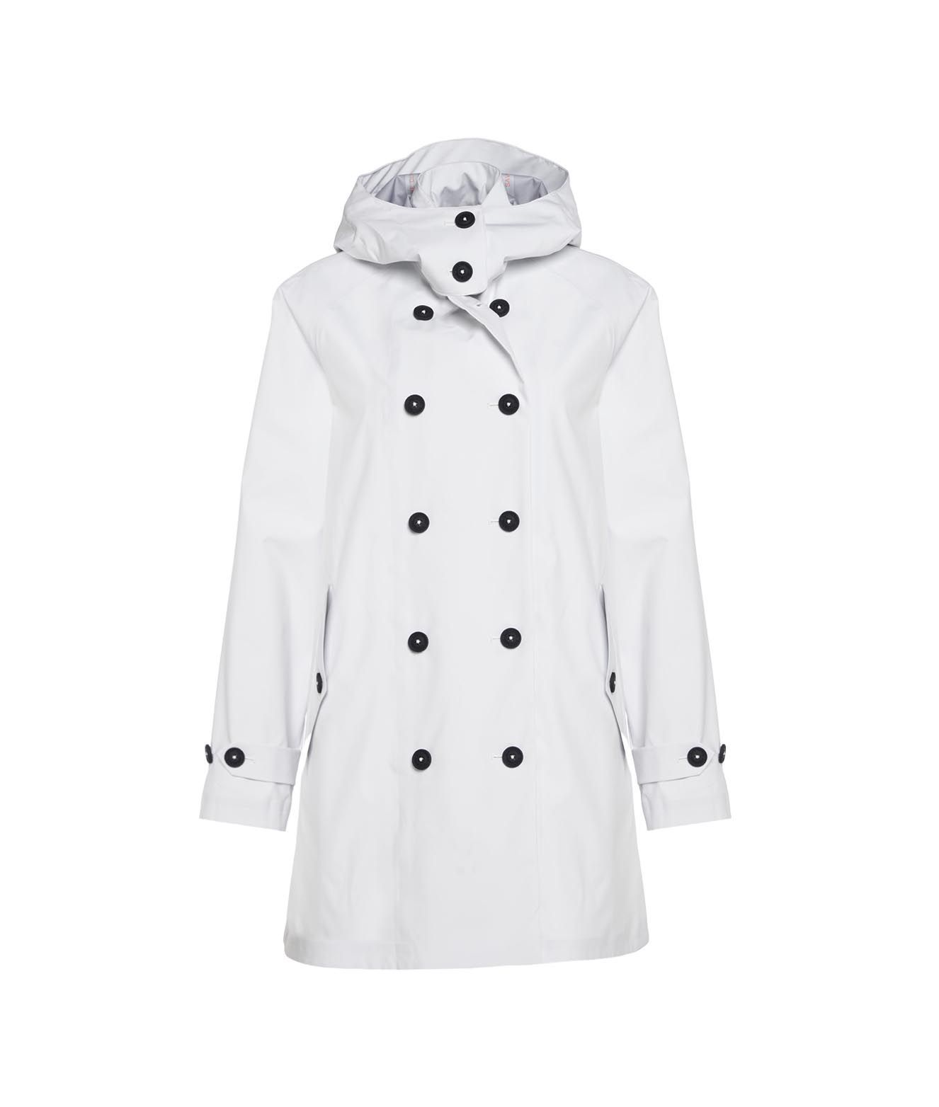 Save The Duck SAVE THE DUCK WOMEN'S D43120GRIN1200002 WHITE OTHER MATERIALS COAT