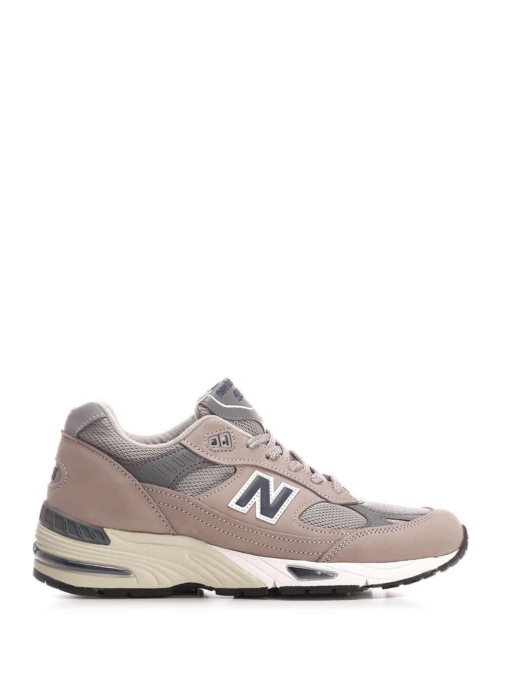 New Balance Leathers NEW BALANCE MEN'S M991ANIGREYNAVY GREY OTHER MATERIALS SNEAKERS