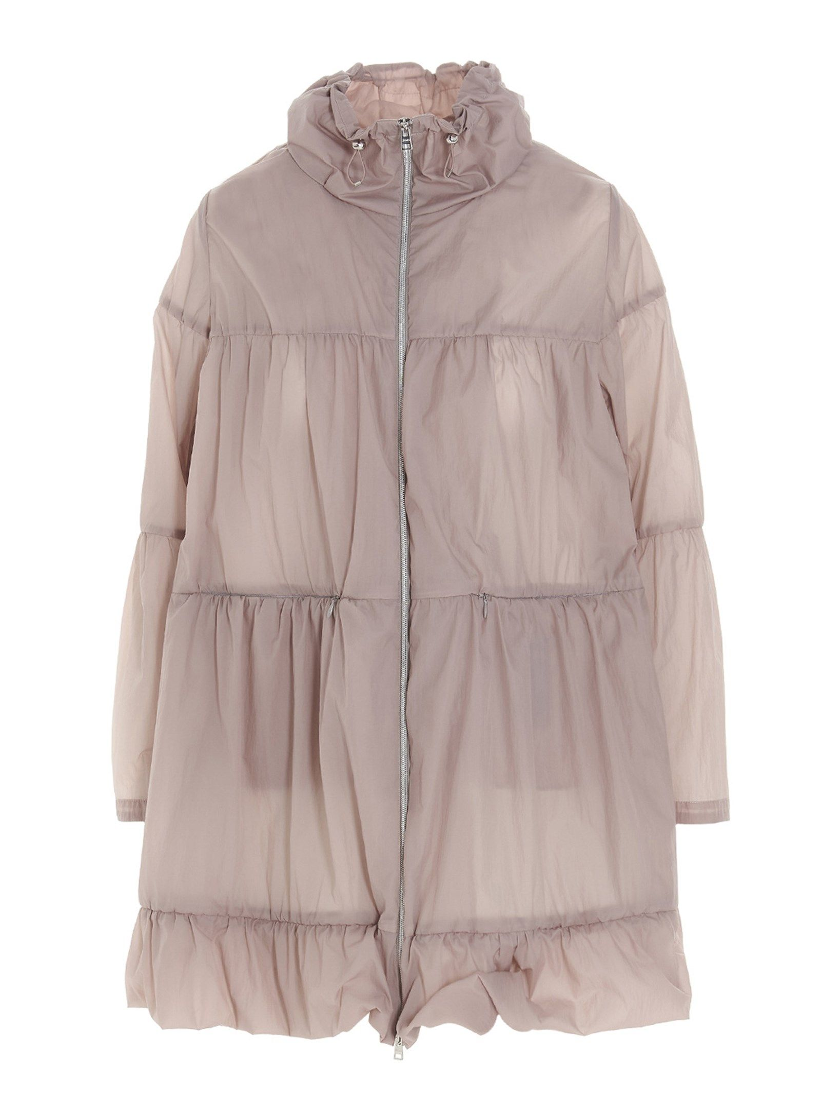 Herno HERNO WOMEN'S GC0305D123144030 PINK OTHER MATERIALS OUTERWEAR JACKET