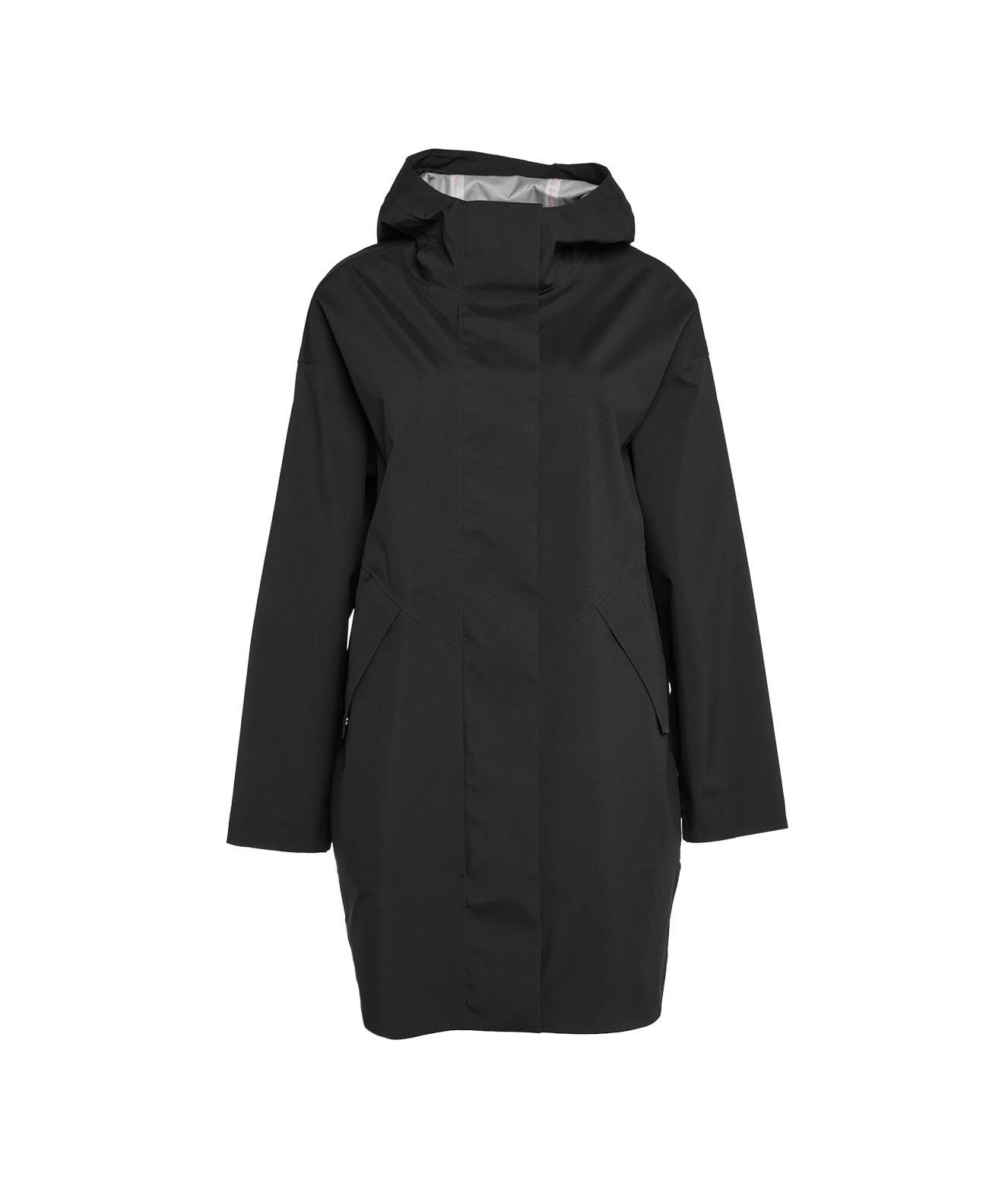 Save The Duck SAVE THE DUCK WOMEN'S D40108GRIN1210000 BLACK OTHER MATERIALS COAT
