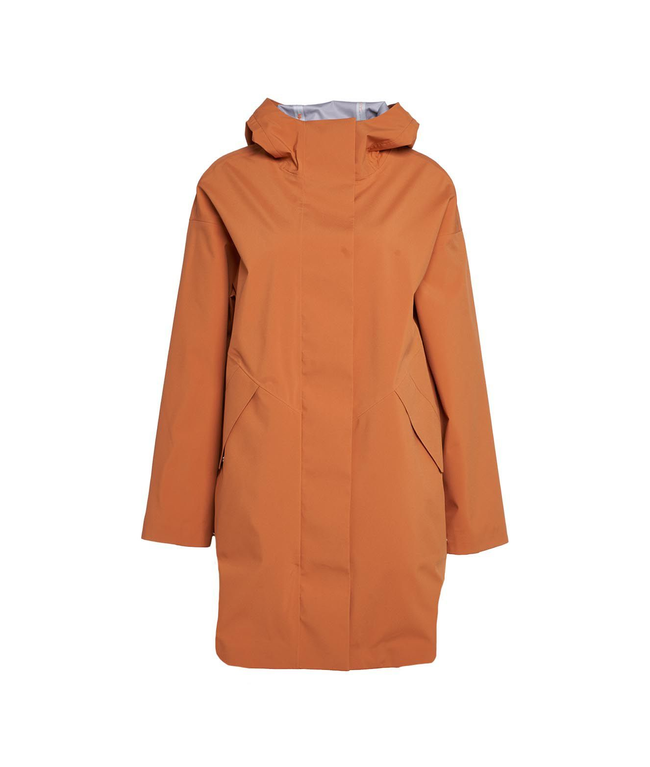 Save The Duck SAVE THE DUCK WOMEN'S D40108GRIN1270004 ORANGE OTHER MATERIALS COAT