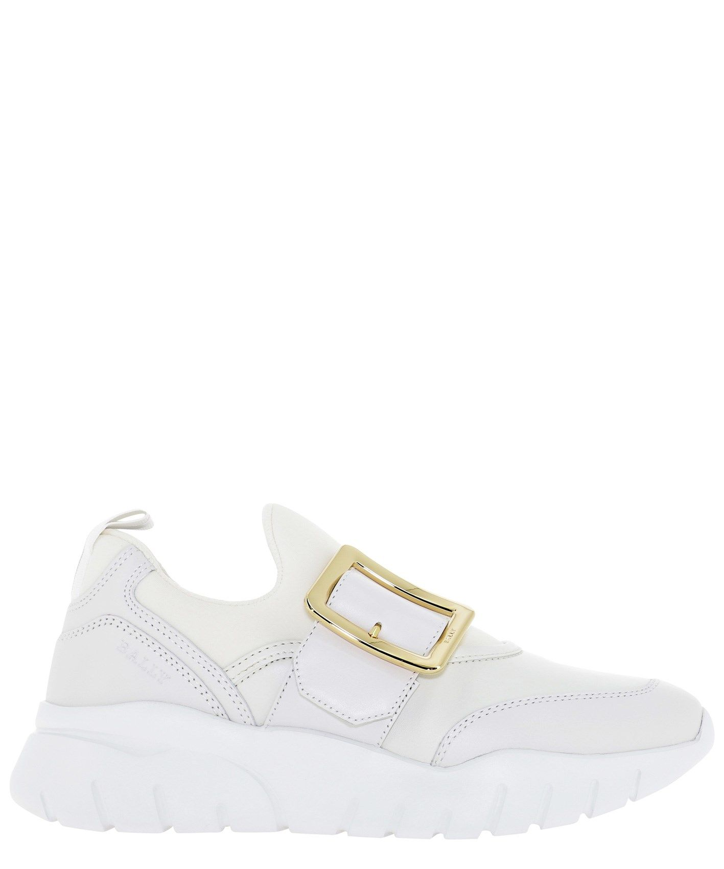 Bally BALLY WOMEN'S 6234720BRINELLENEWWHITE WHITE OTHER MATERIALS SNEAKERS