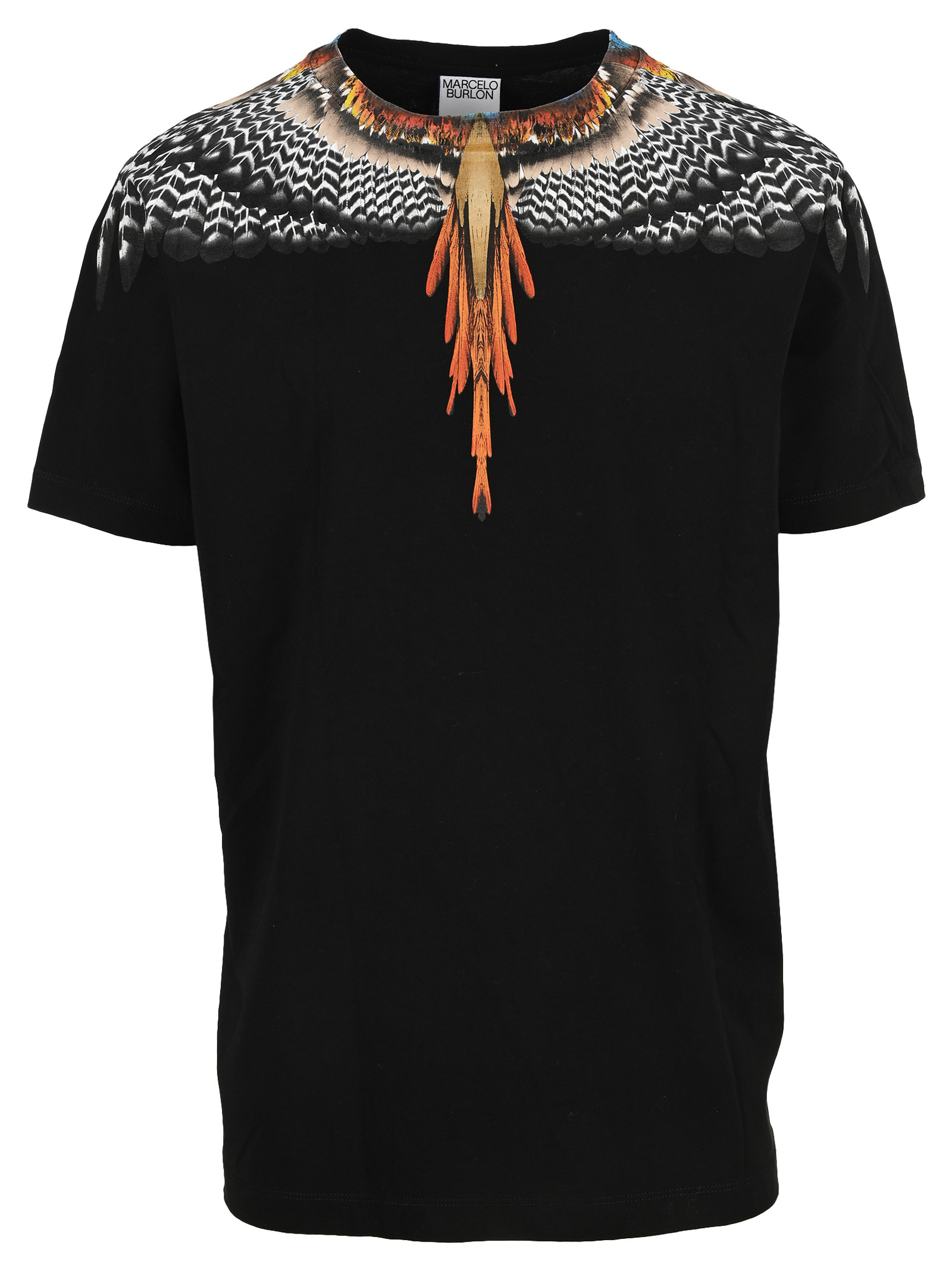 Marcelo Burlon County Of Milan Cottons GRIZZLY WINGS T-SHIRT