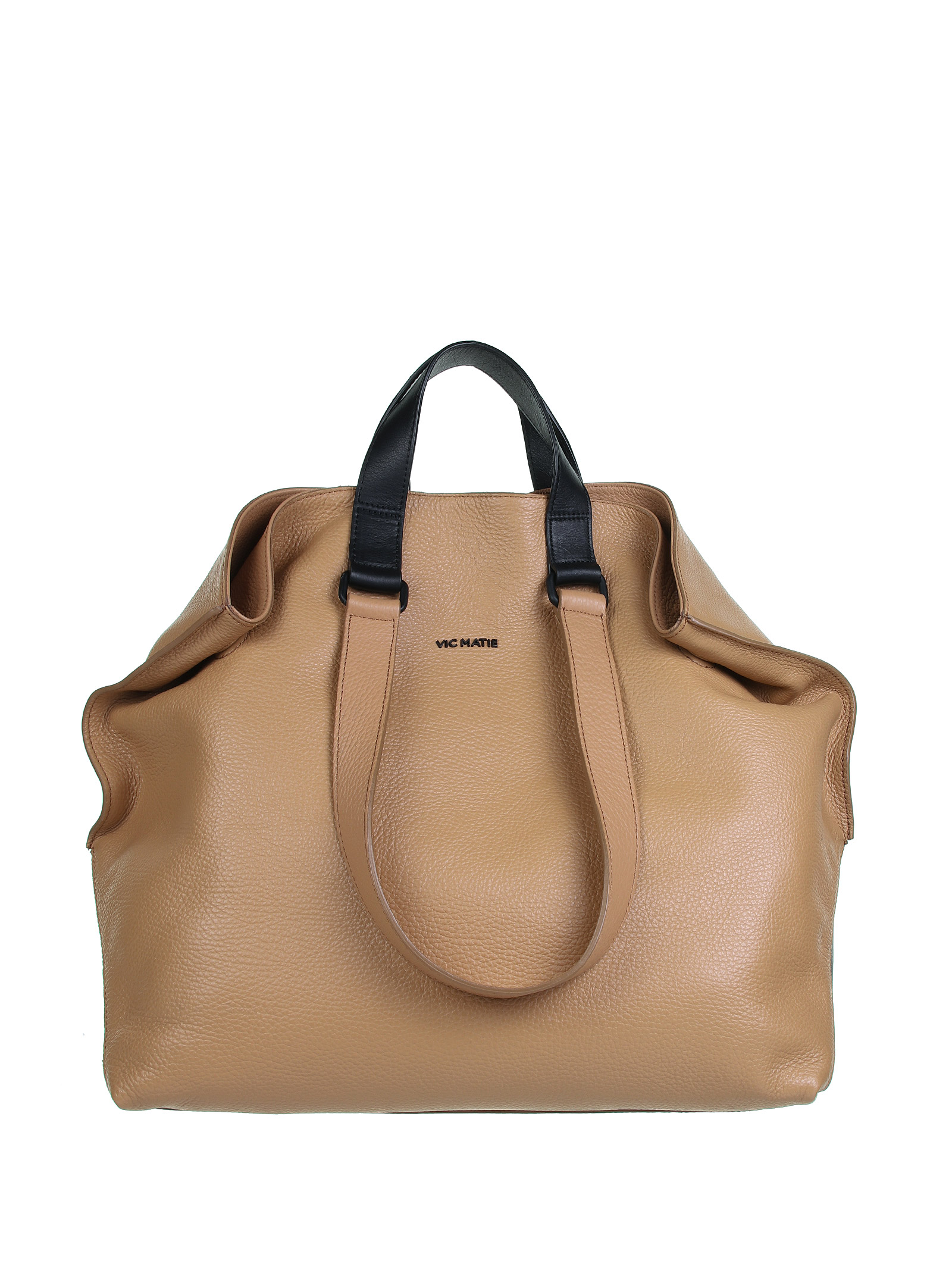 Vic Matie Leathers BAGS. BROWN
