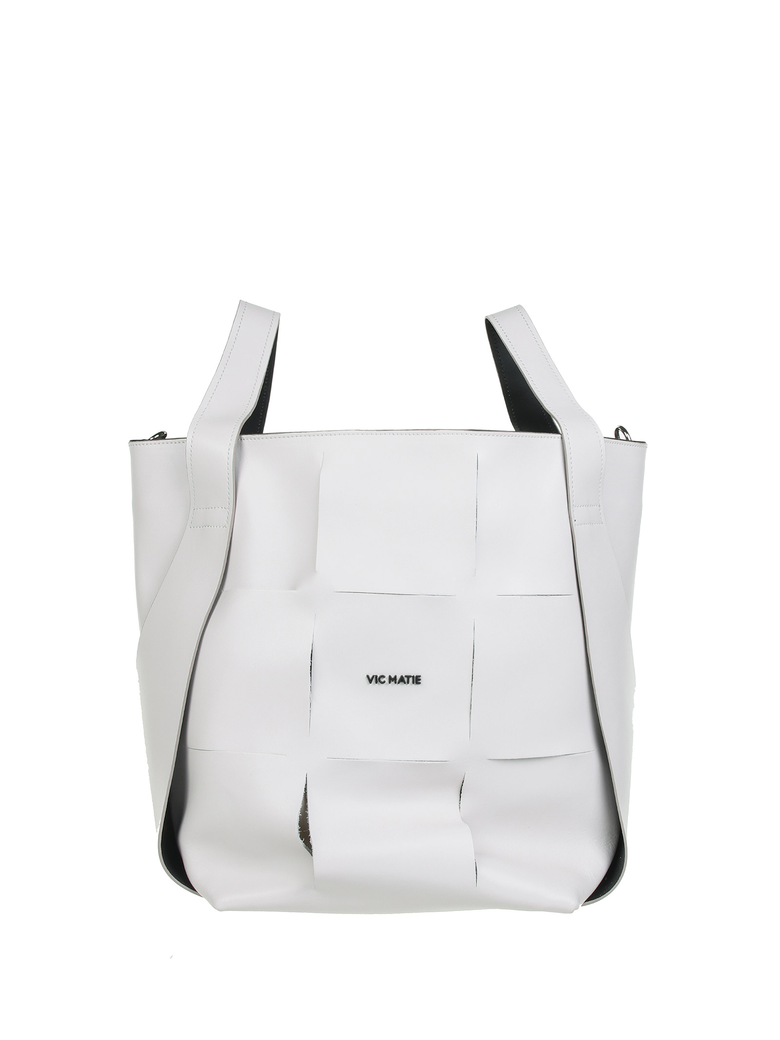Vic Matie Leathers BAGS. WHITE