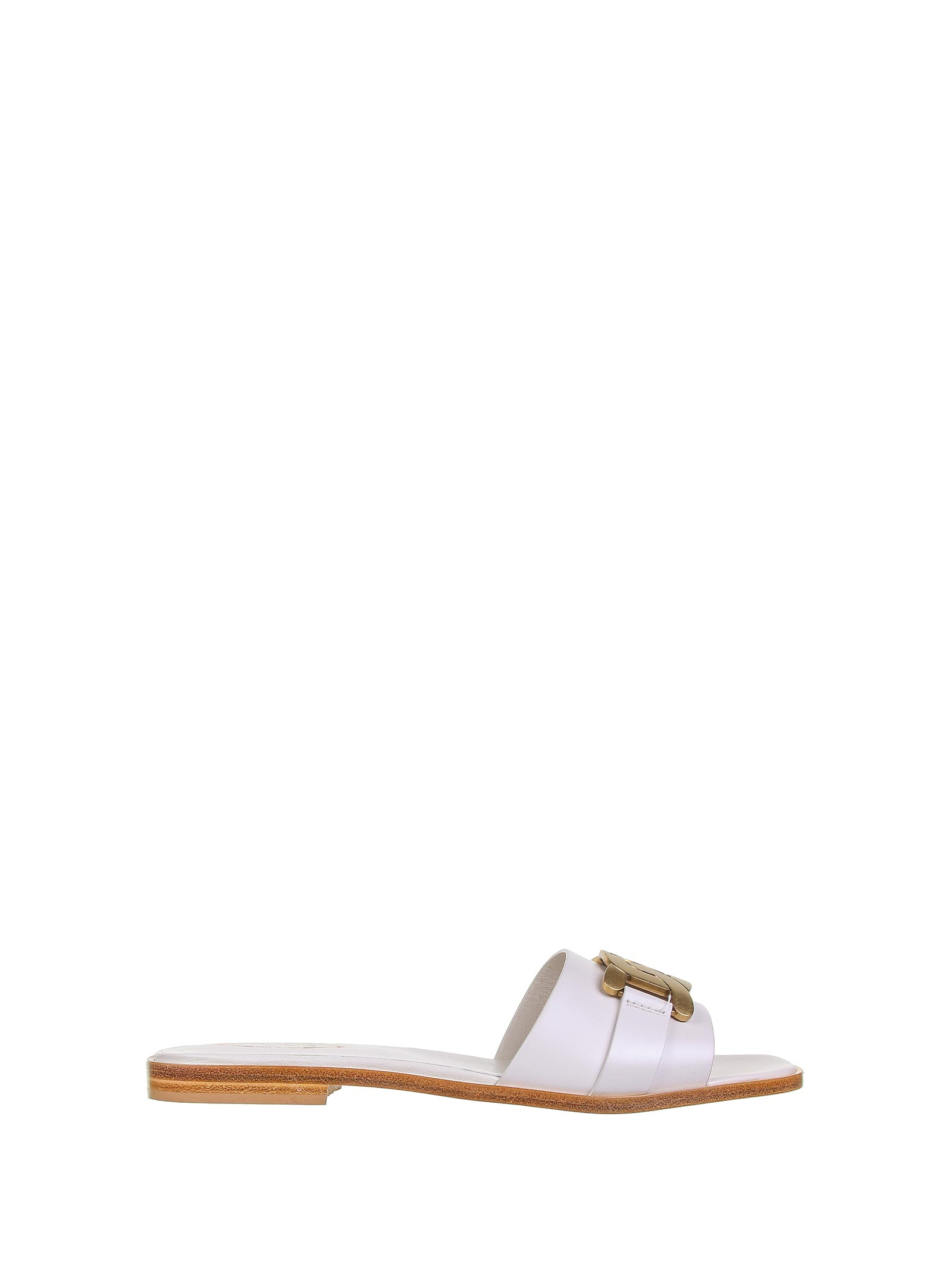 Tod's Leathers SANDALS WHITE