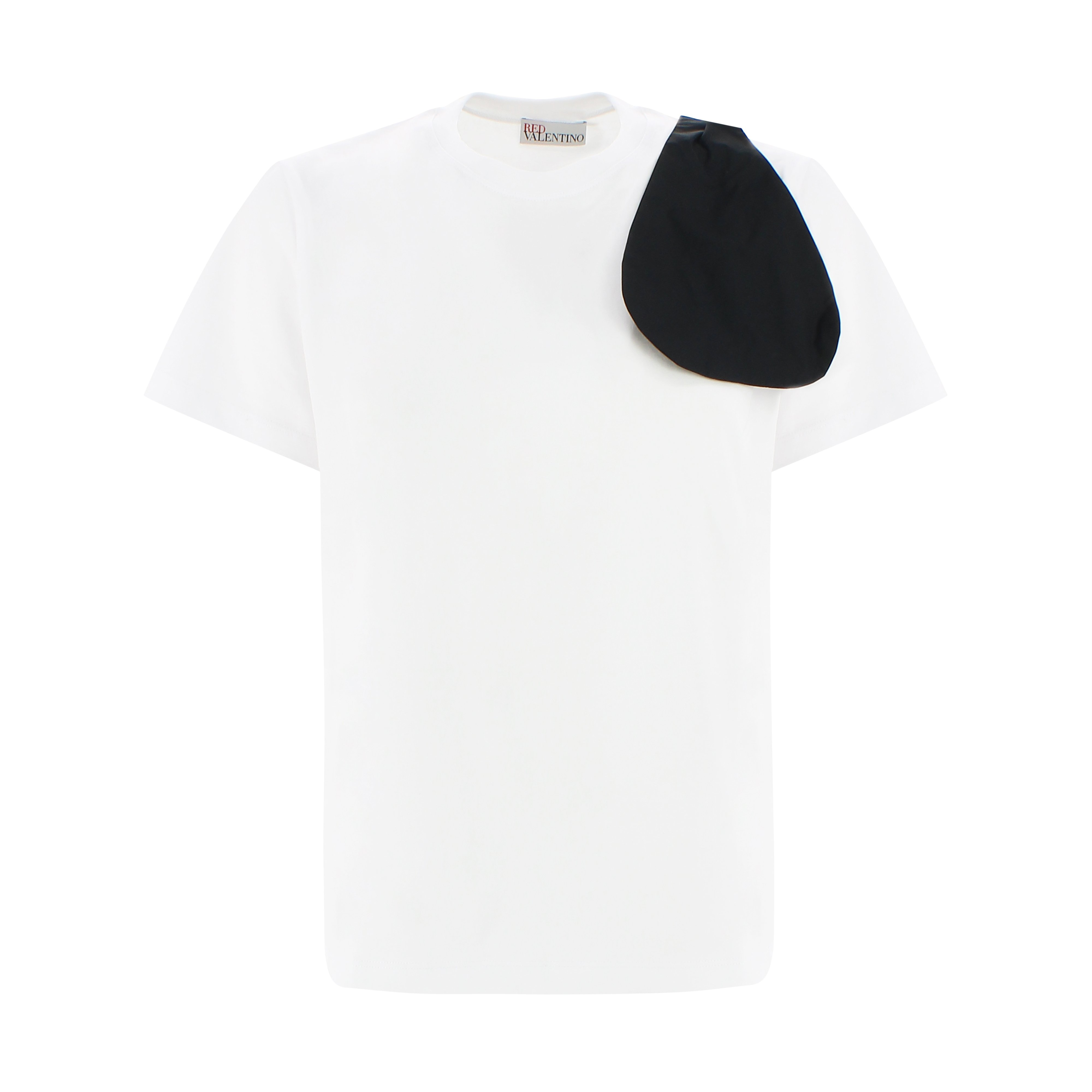 Red Valentino Cottons BOW-DETAILED T-SHIRT
