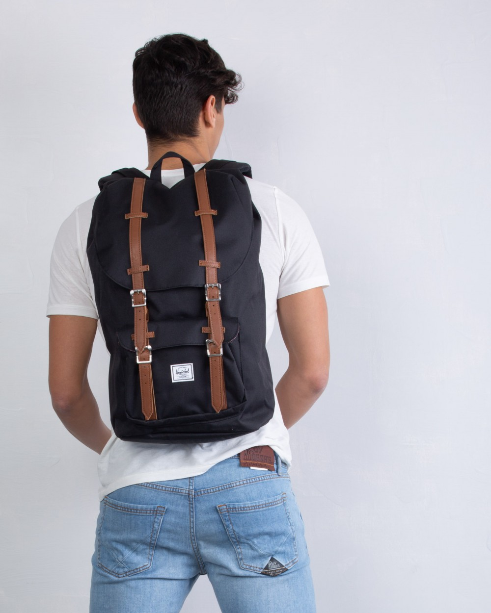 Herschel ZAINO LITTLE AMERICA BLACK