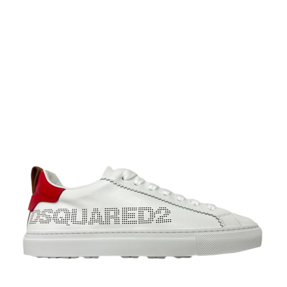 Dsquared2 Leathers SNEAKERS SAN DIEGO LOWTOP BIANCO