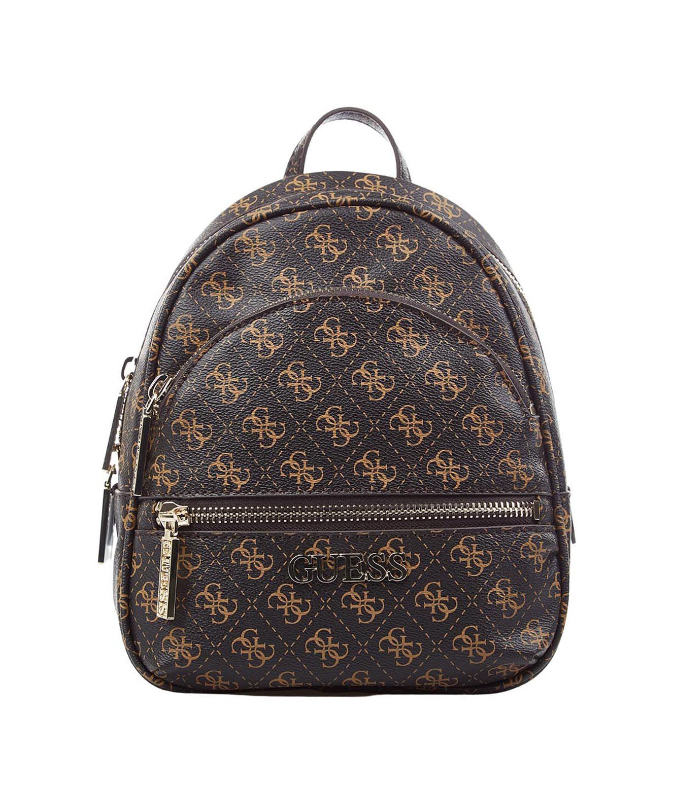 Guess GUESS WOMEN'S HWQL6994310BROWN BROWN POLYURETHANE BACKPACK
