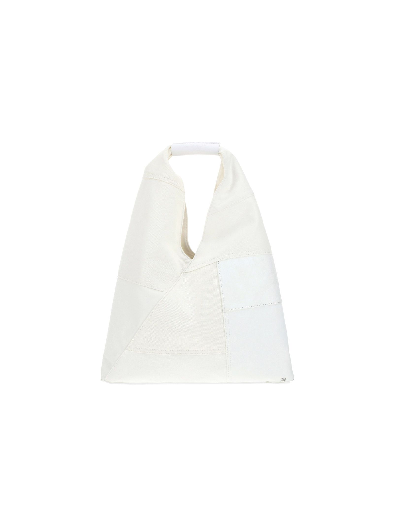 Maison Margiela MAISON MARGIELA WOMEN'S S54WD0043P4159H8700 WHITE OTHER MATERIALS HANDBAG