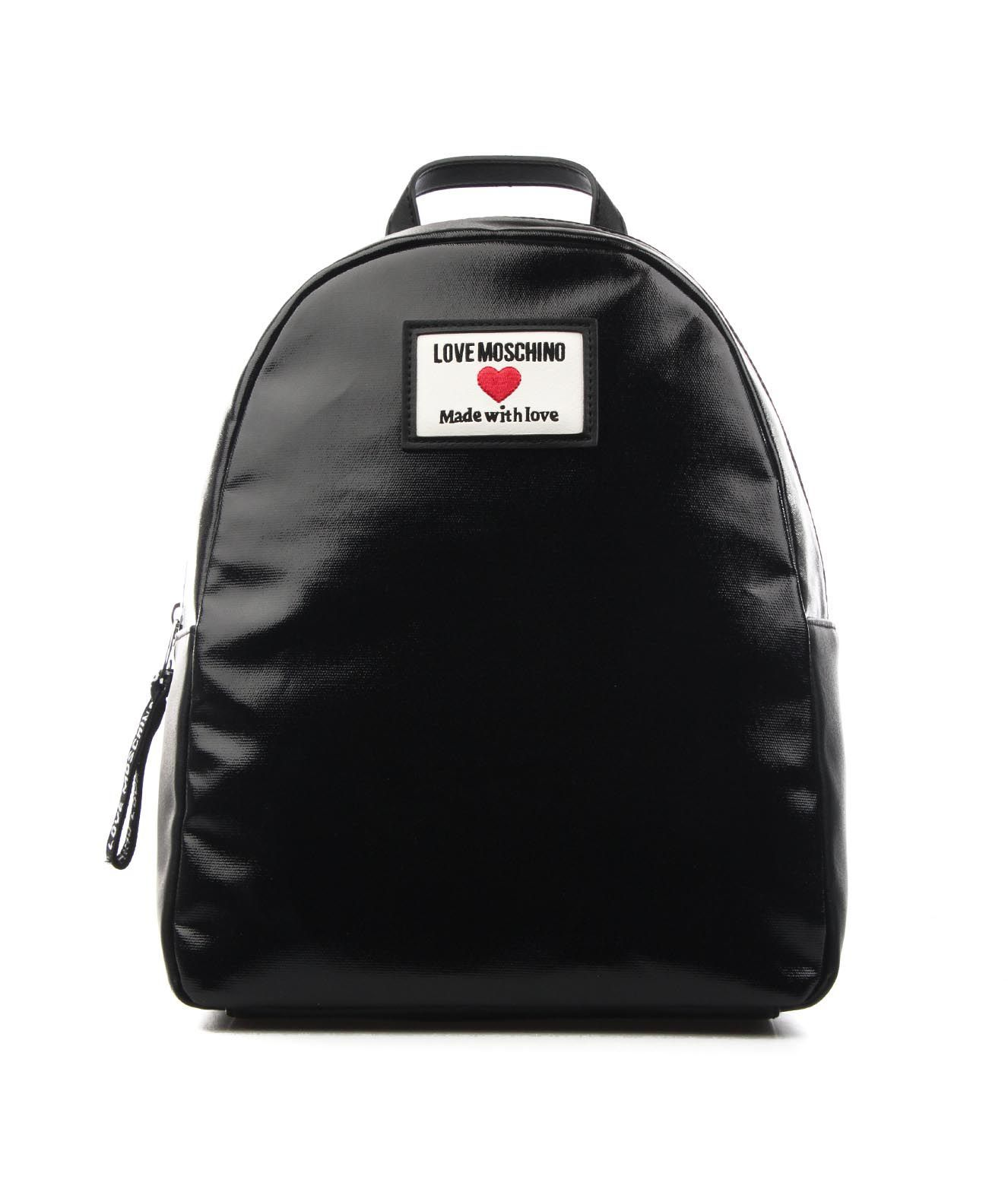 Love Moschino LOVE MOSCHINO WOMEN'S JC4031PP1CLC100A BLACK OTHER MATERIALS BACKPACK